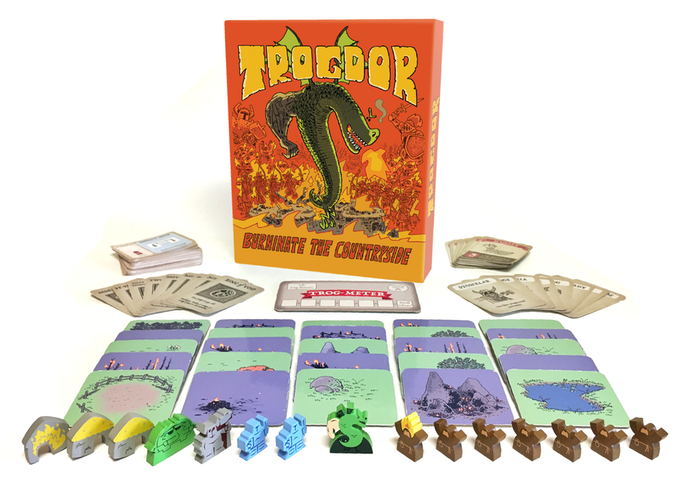 Burninate all the villagers in Trogdor: The Board Game