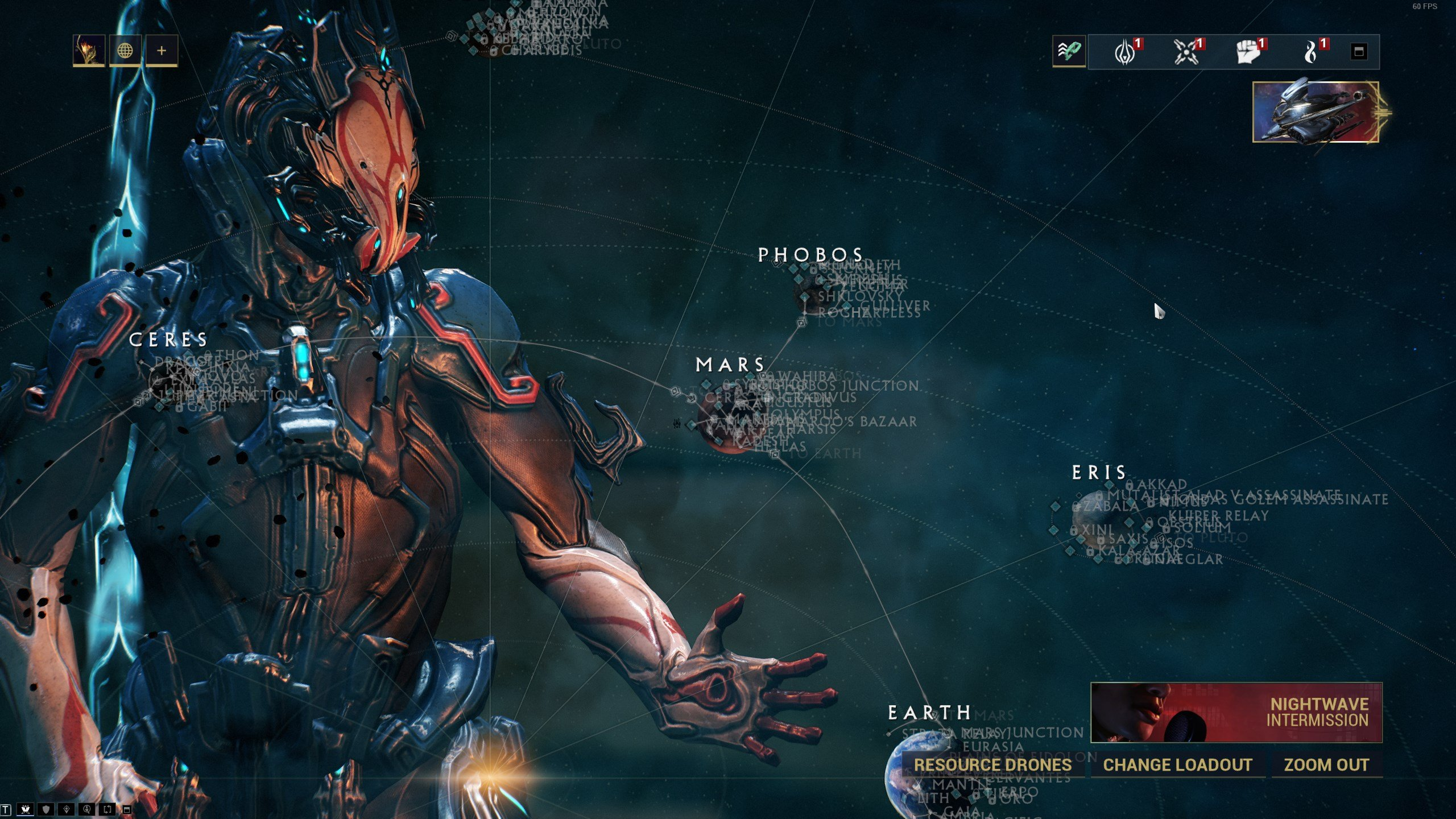 How to find Empyrean missions in Warframe Empyrean