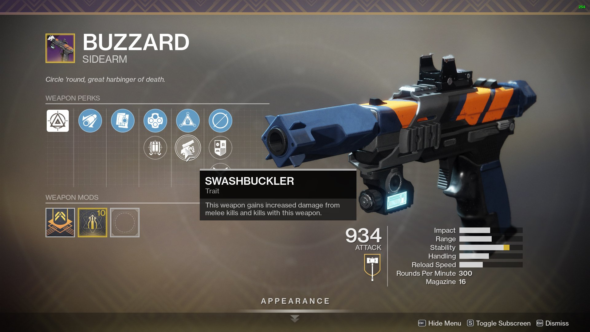 destiny 2 buzzard is it good