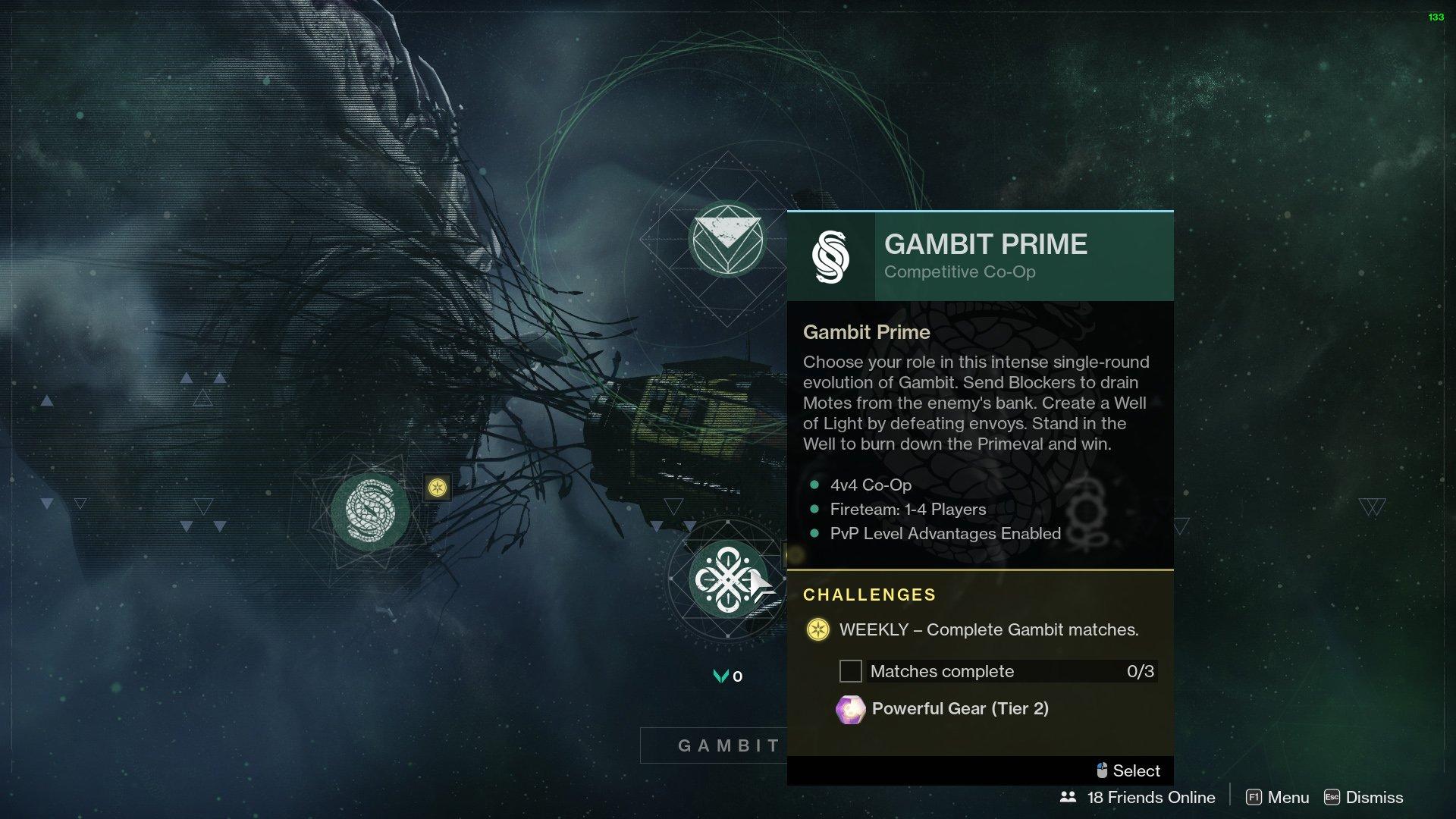 destiny 2 gambit prime