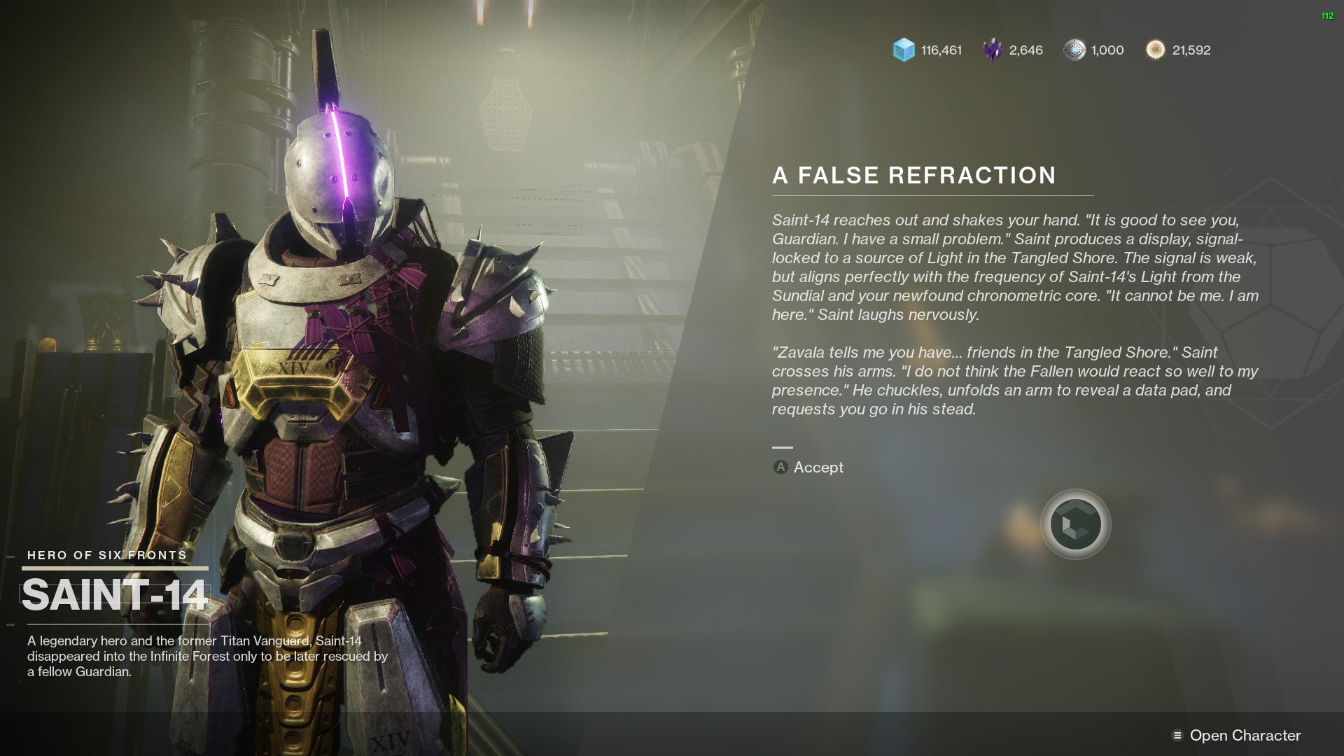destiny 2 memento a false refraction