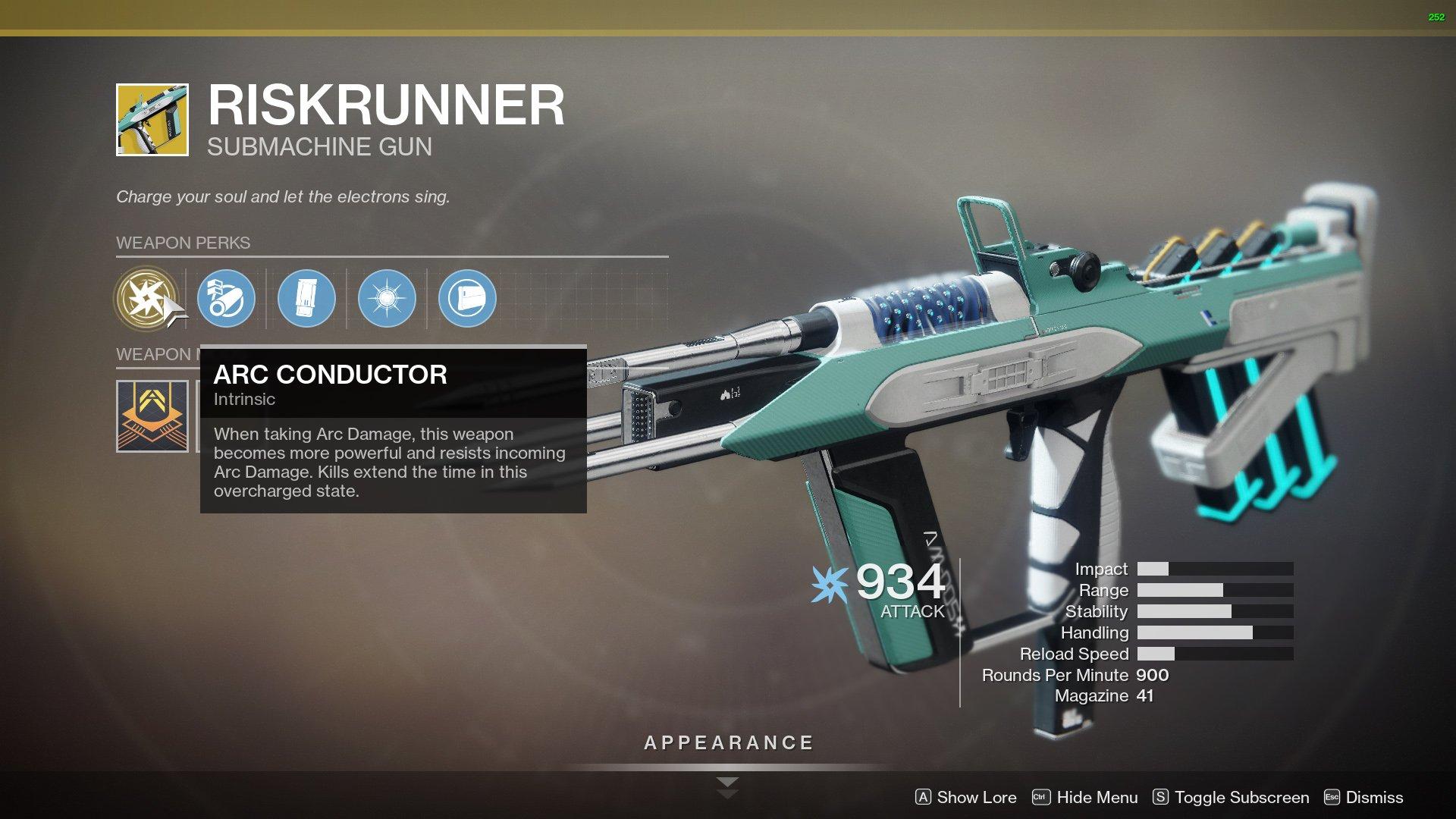 Destiny 2 Riskrunner