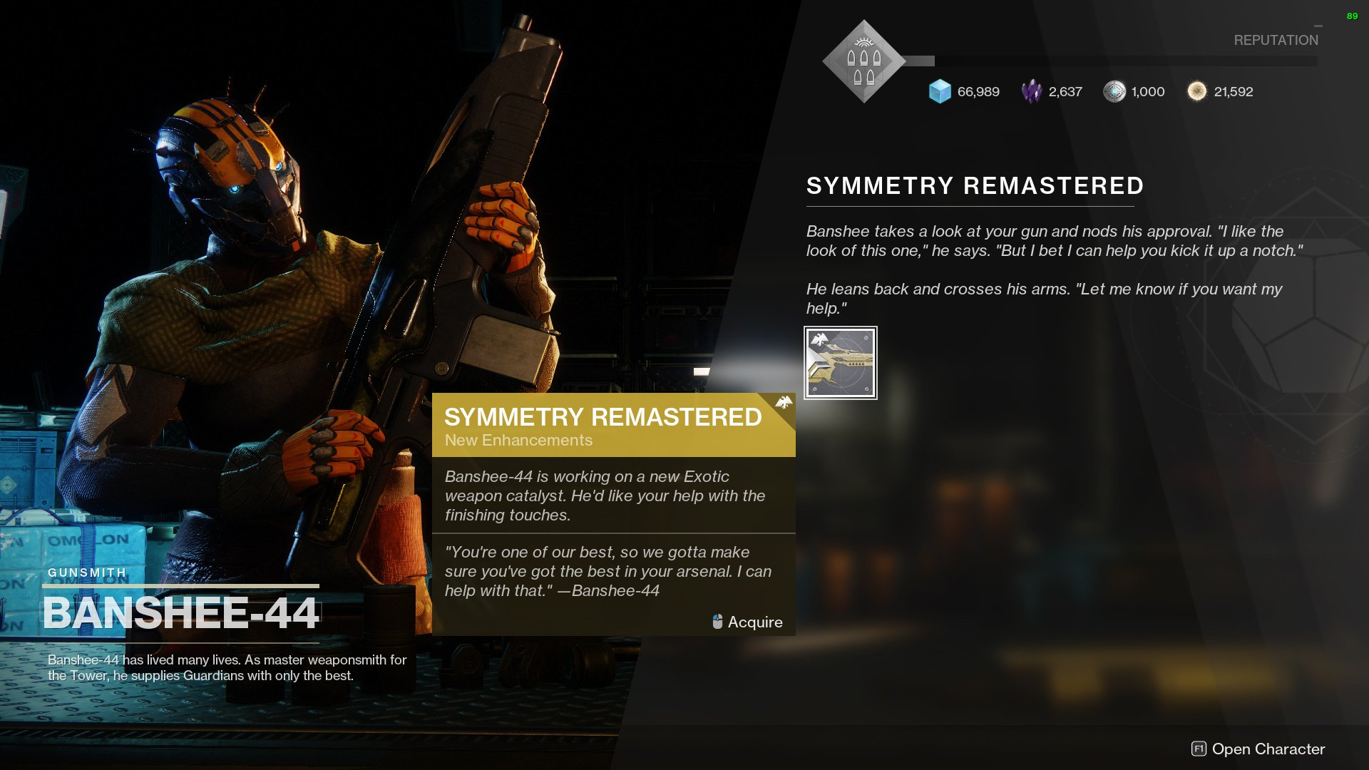 Destiny 2 Symmetry Remastered