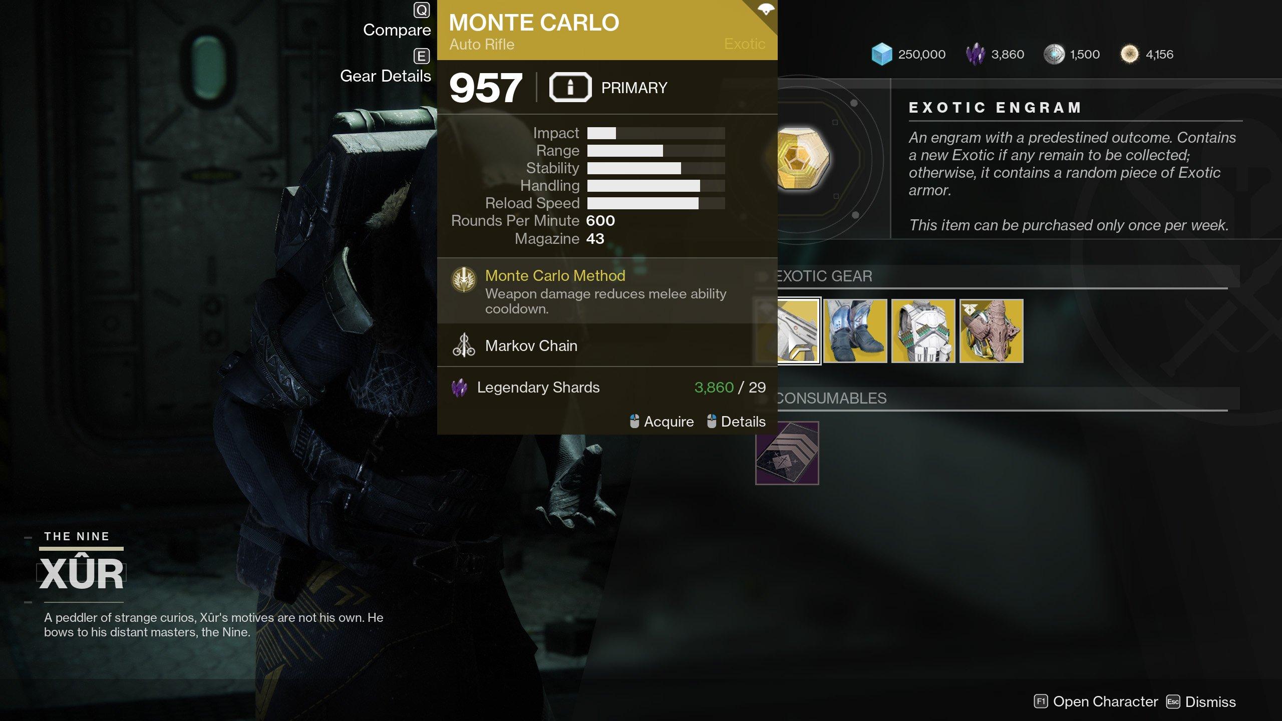 Destiny 2 xur location and goods