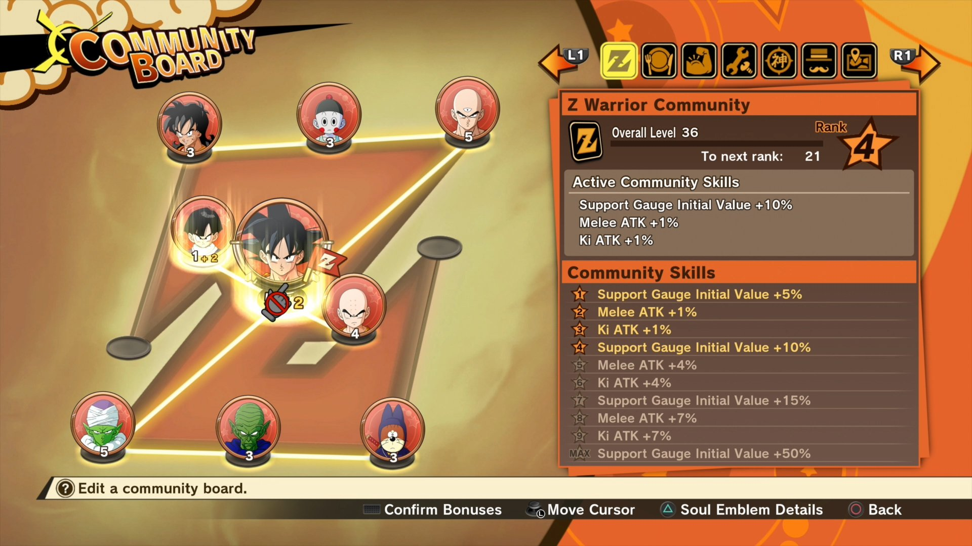 Dragon Ball Z: Kakarot - Community Board overview