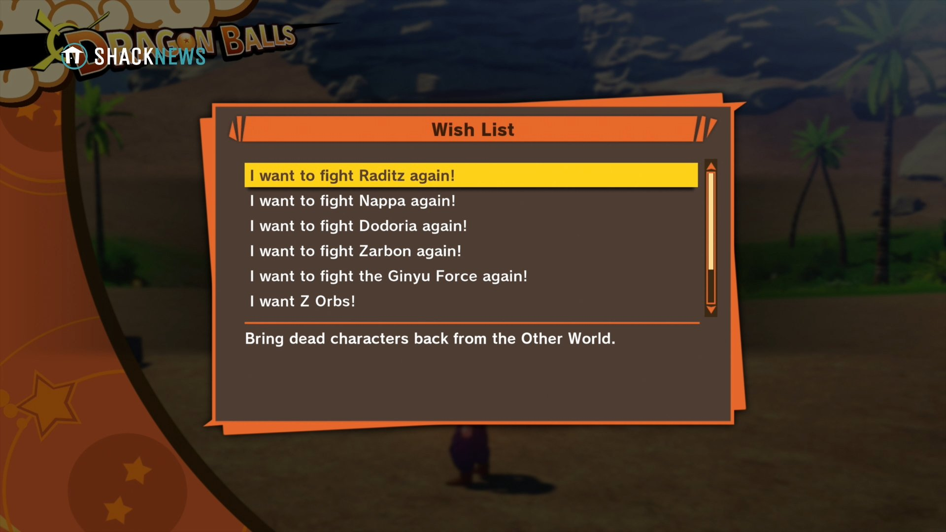 DBZ: Kakarot - how to fight old enemies