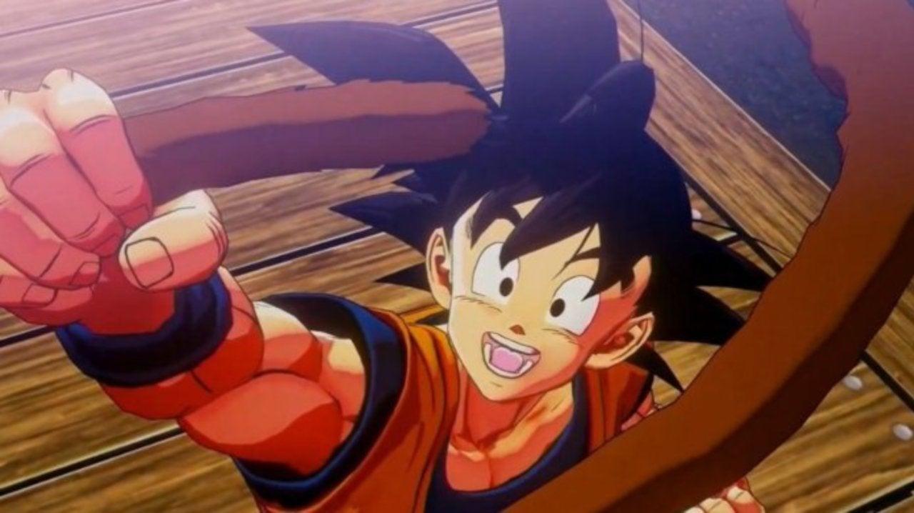 Dragon Ball Z: Kakarot - playable characters - goku