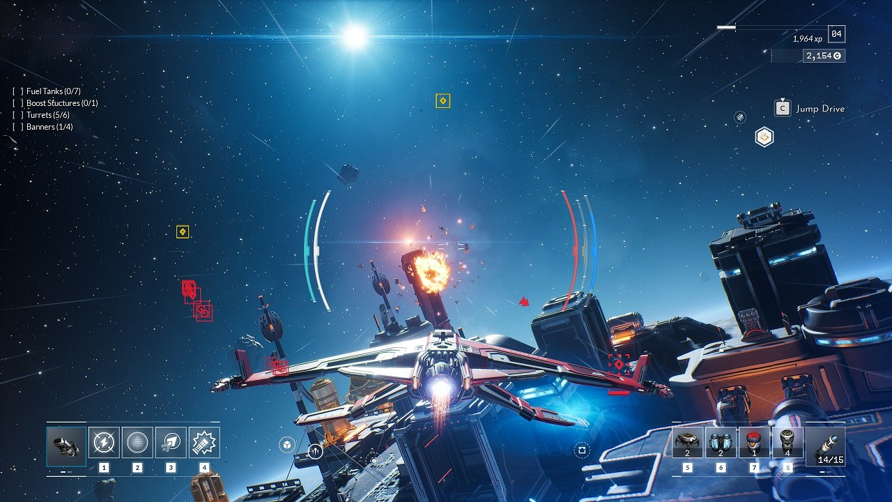 Everspace 2 may be tied down a bit from the randomness, but that doesn't mean how you choose to engage with it won't be varied, fluid, and reactive to your motives.