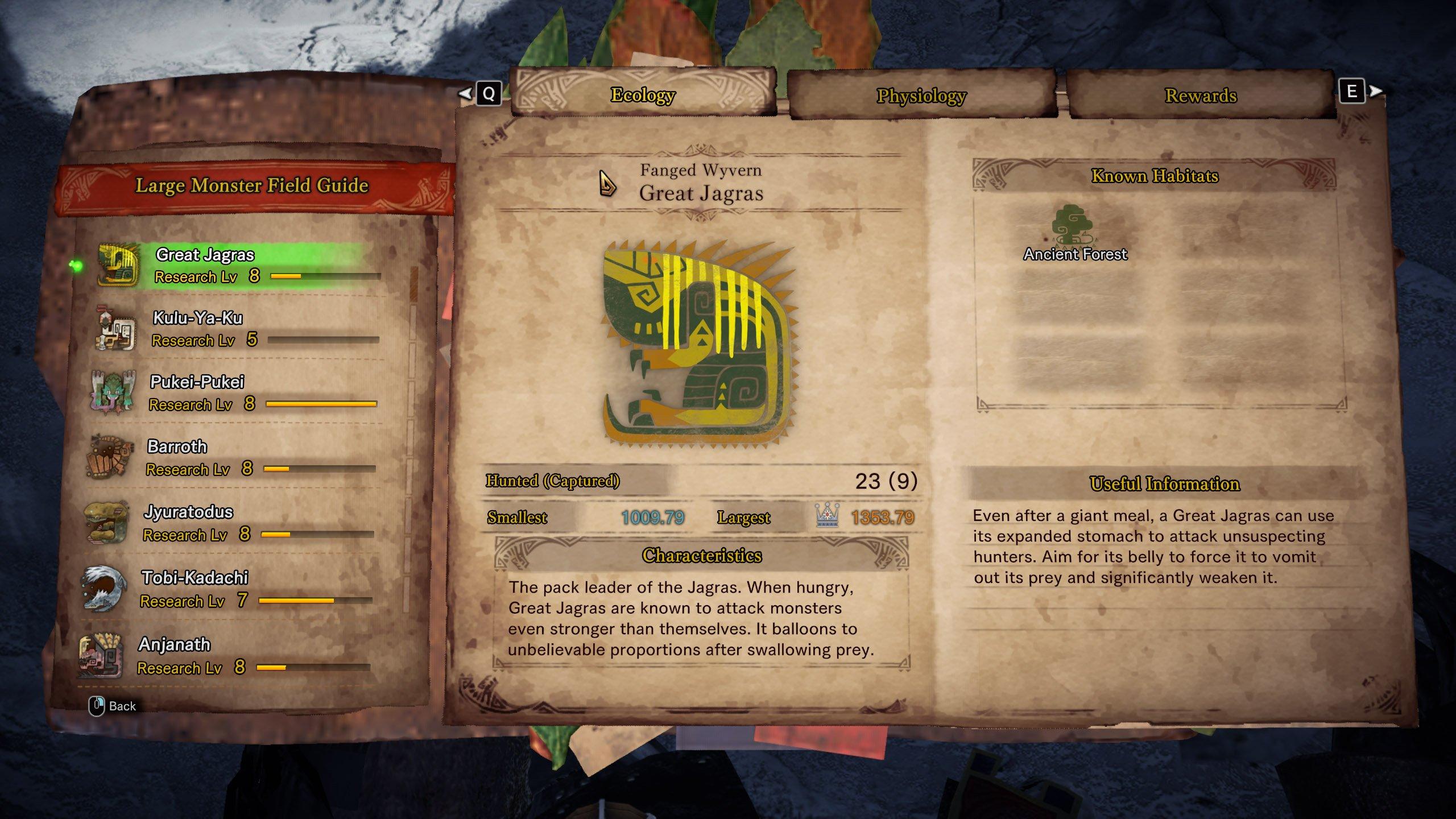 Fanged Wyvern Monster Hunter World