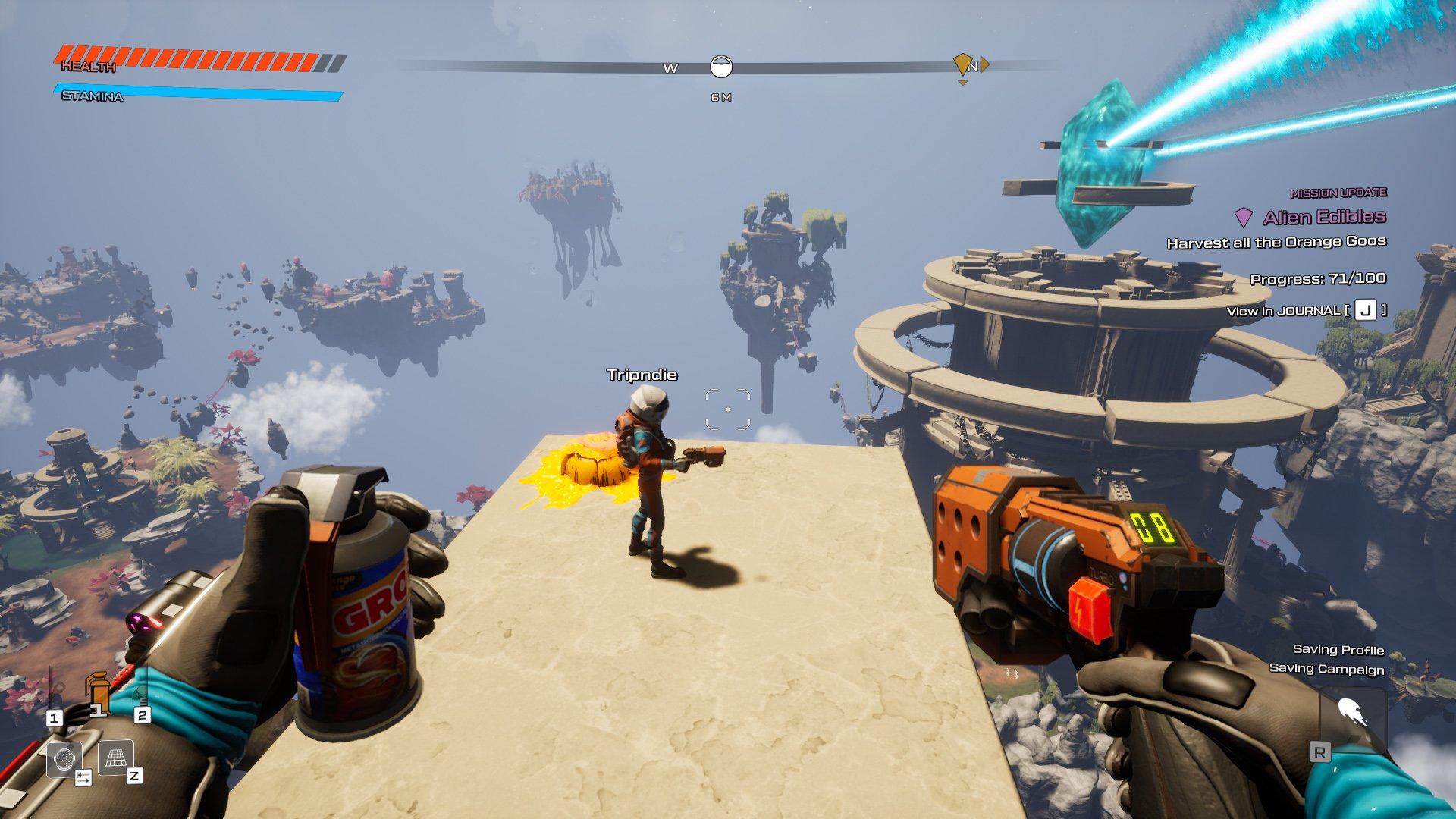 journey to the savage planet cross-platform play