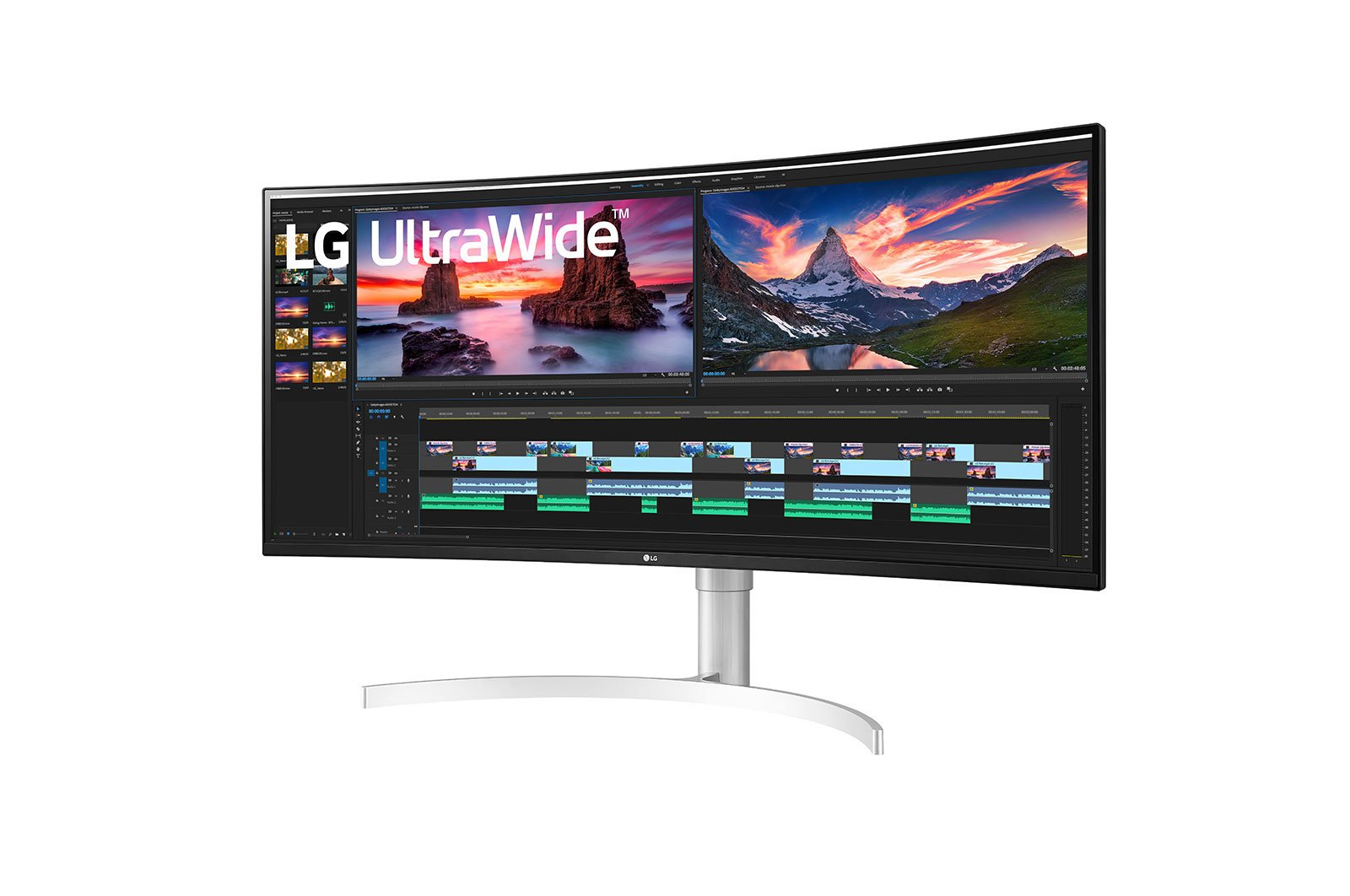 LG 38WN95C-W monitor