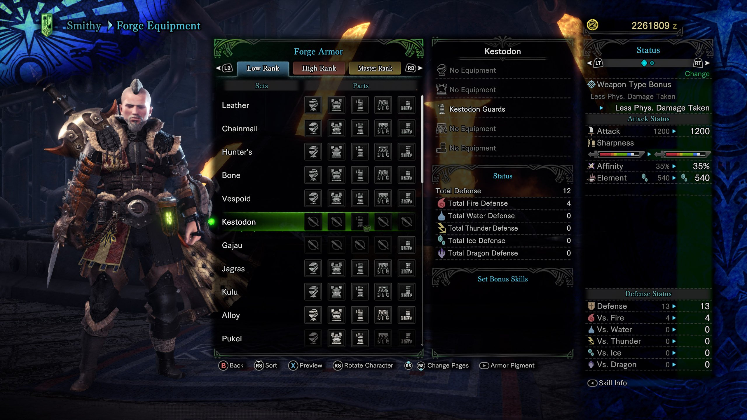 Monster Hunter World All Armor Sets Shacknews