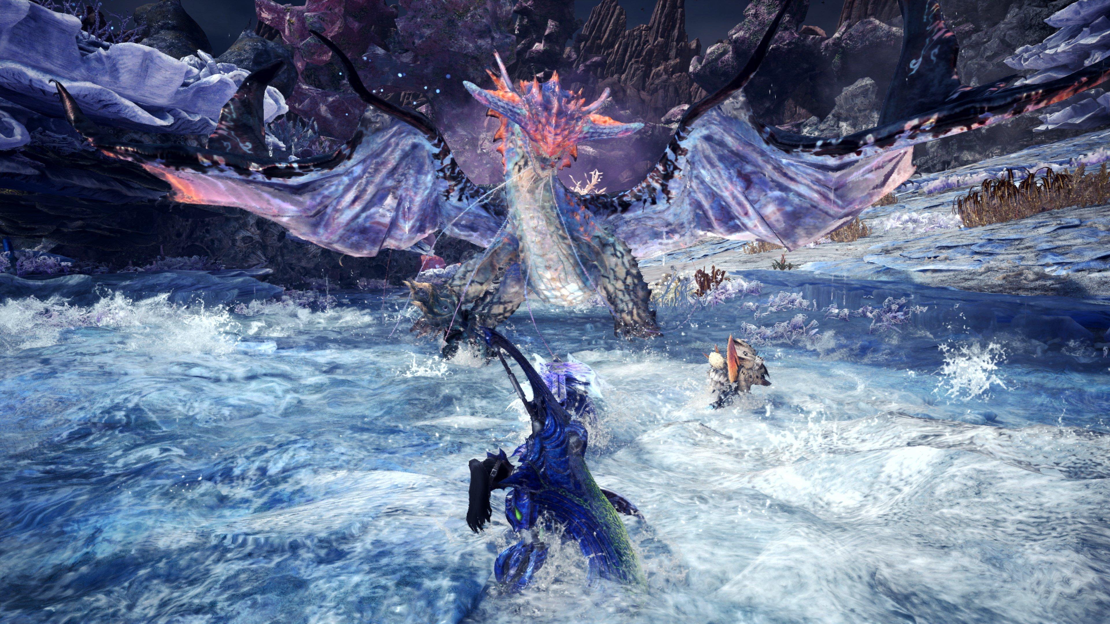 Monster Hunter World: Iceborne - level regions in guiding lands