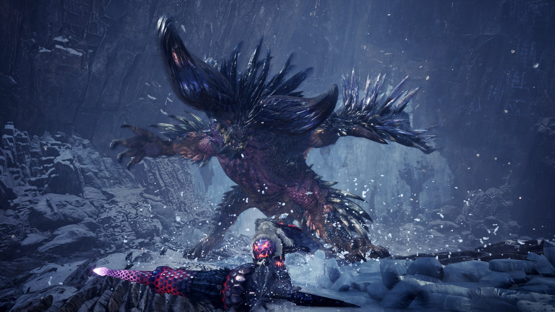 How to get Afflicted Frenzybone in Monster Hunter World: Iceborne Tundra Region - Guiding Lands