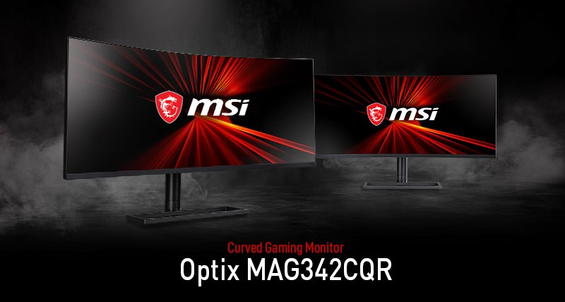 MSI Optix MAG342CQR 1000R monitor