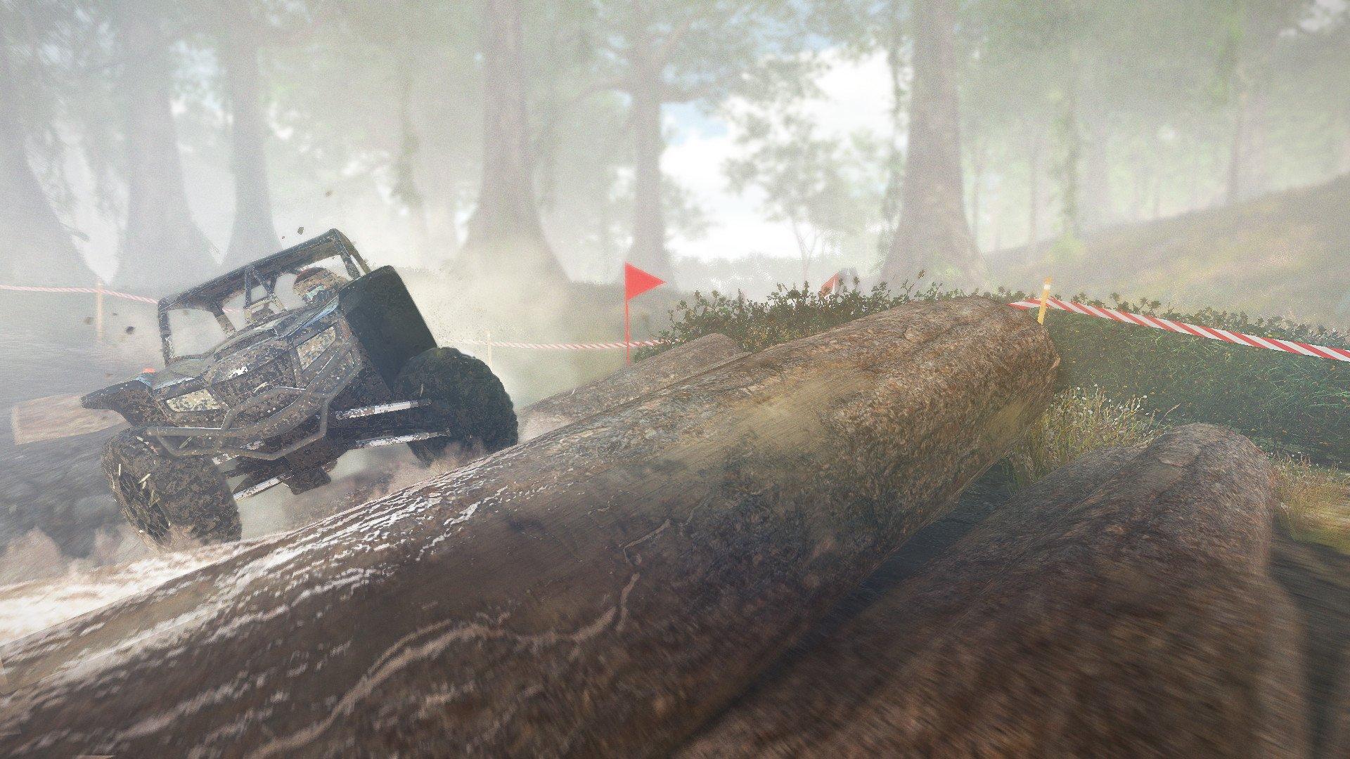 Be prepared to take on rugged terrain.