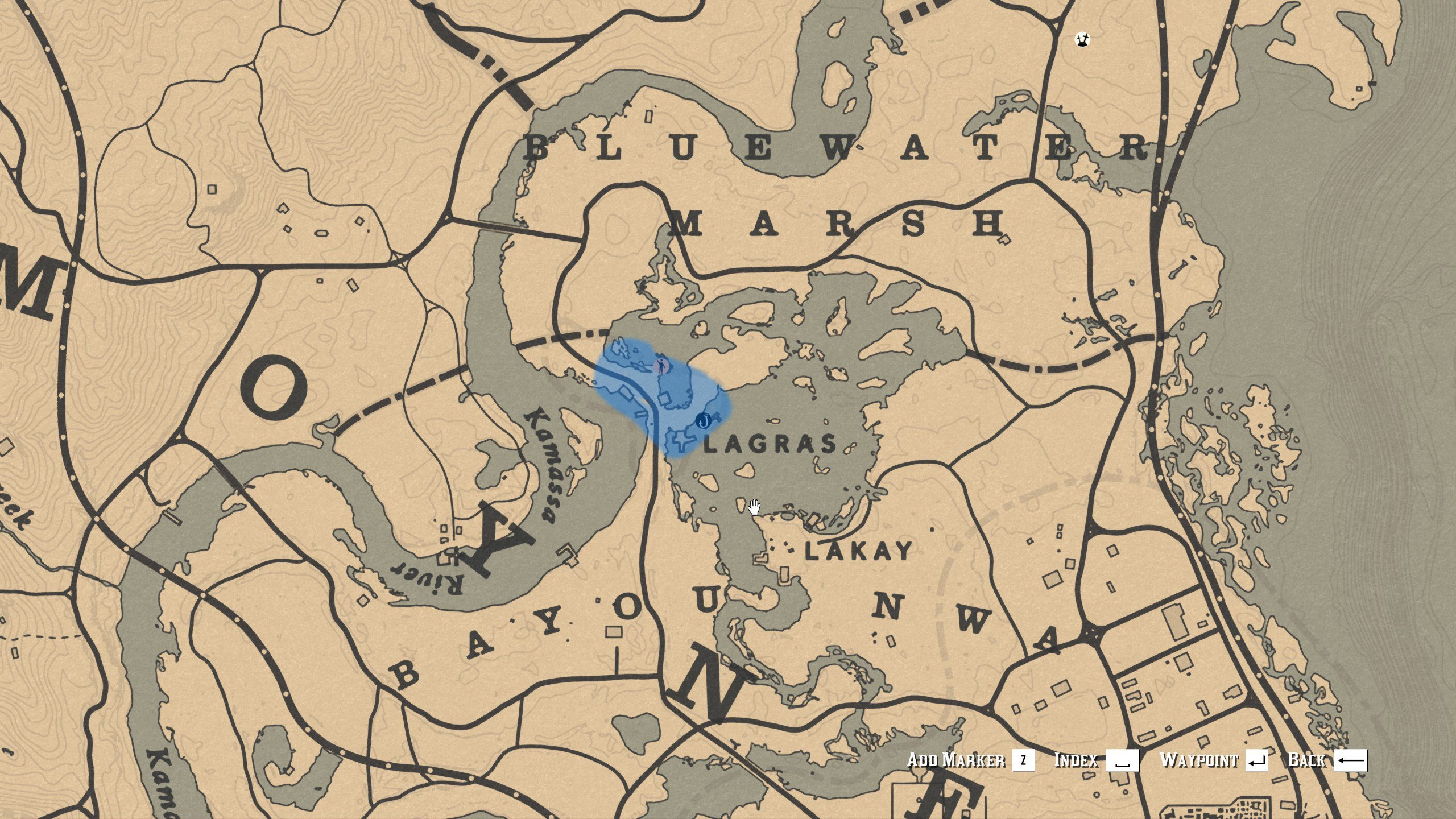 Chicken locations - Red Dead Redemption 2 - Lagras
