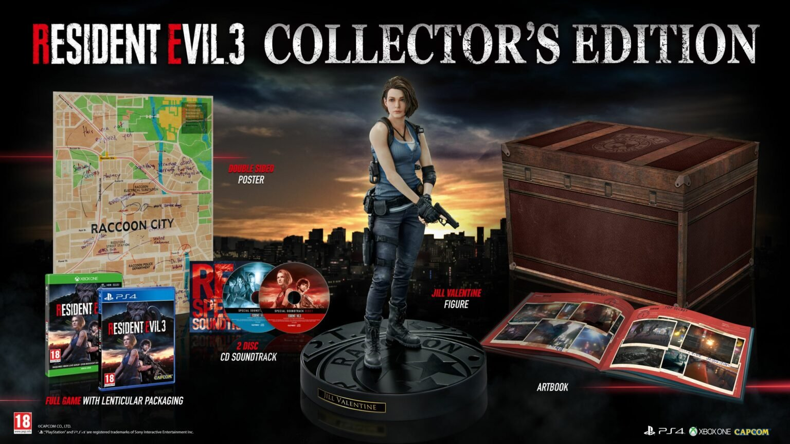 Resident Evil 3 gets European Collector's Edition with soundtrack