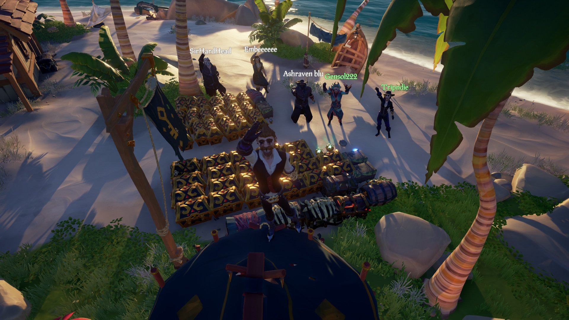 Sea of Thieves alliance for gold