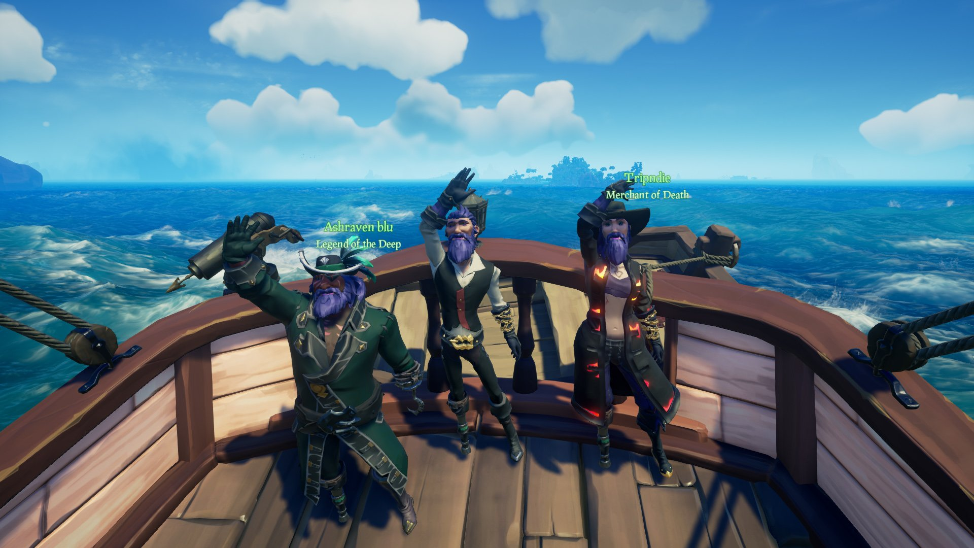 Sea of Thieves Show Umbra Legends of the Sea