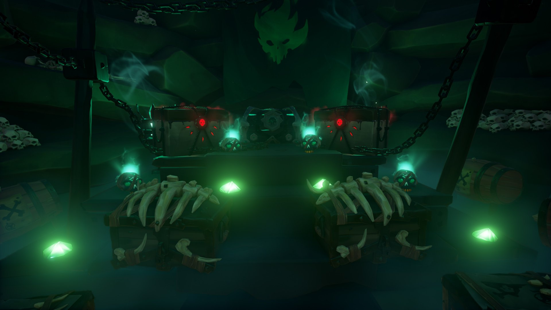 sea of thieves fort of the damned loot