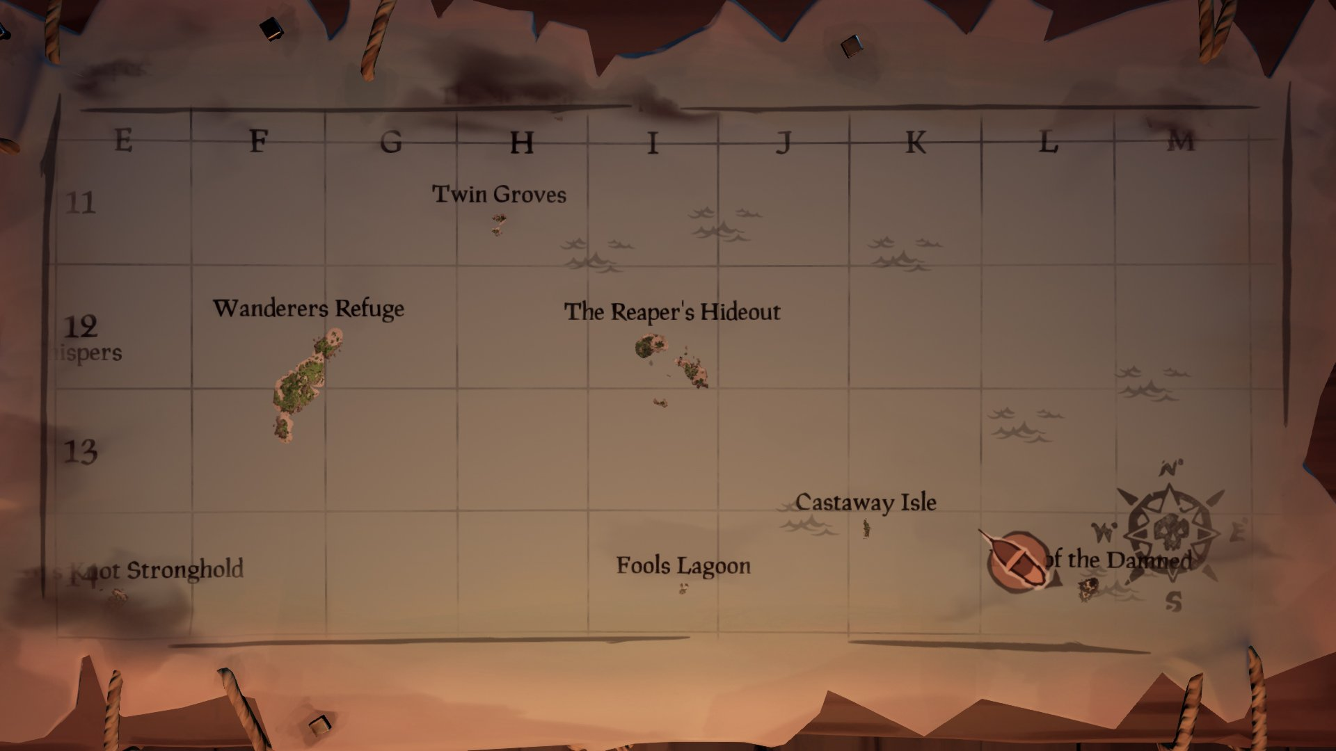 sea of thieves sell gifts reaper's hideout
