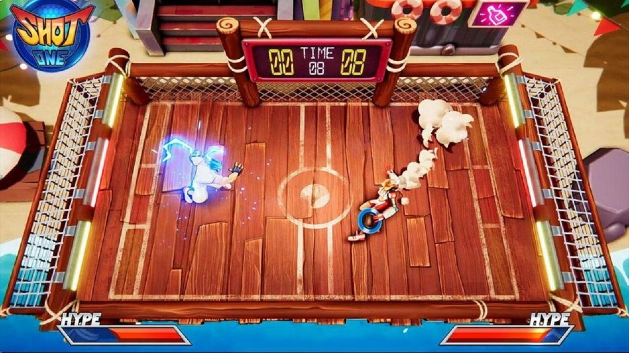 Functionally, Shot One is built in a way that Windjammers fans will adapt to easily.