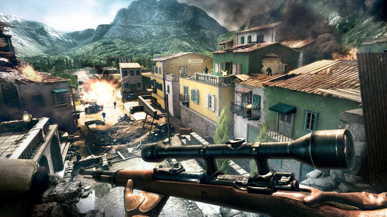 Sniper Elite VR offers players free movement of their characters to interact with levels, which should make for interesting engagements and disengagements as you play through the game's campaign.