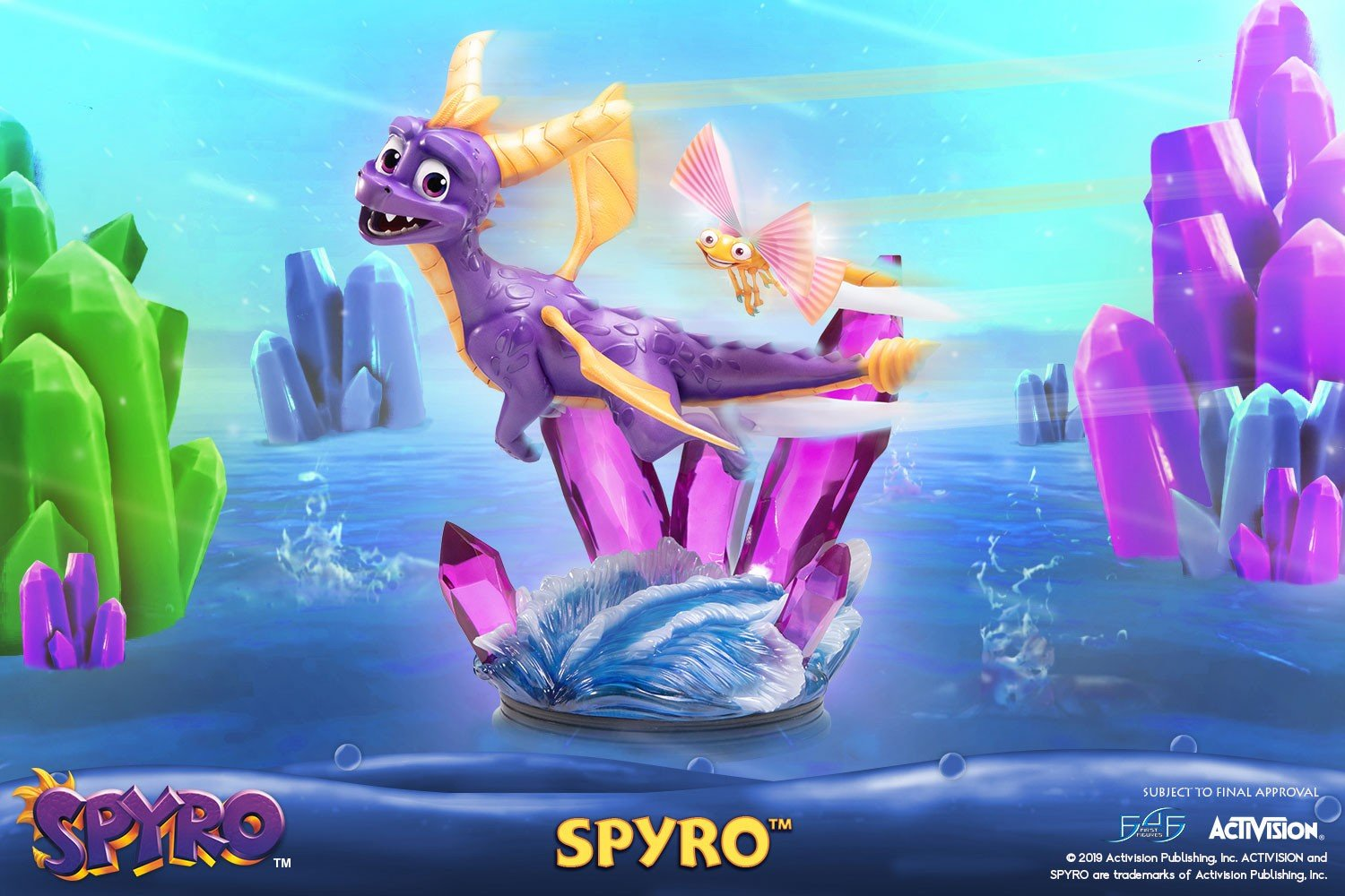 spyro the dragon first 4 figures