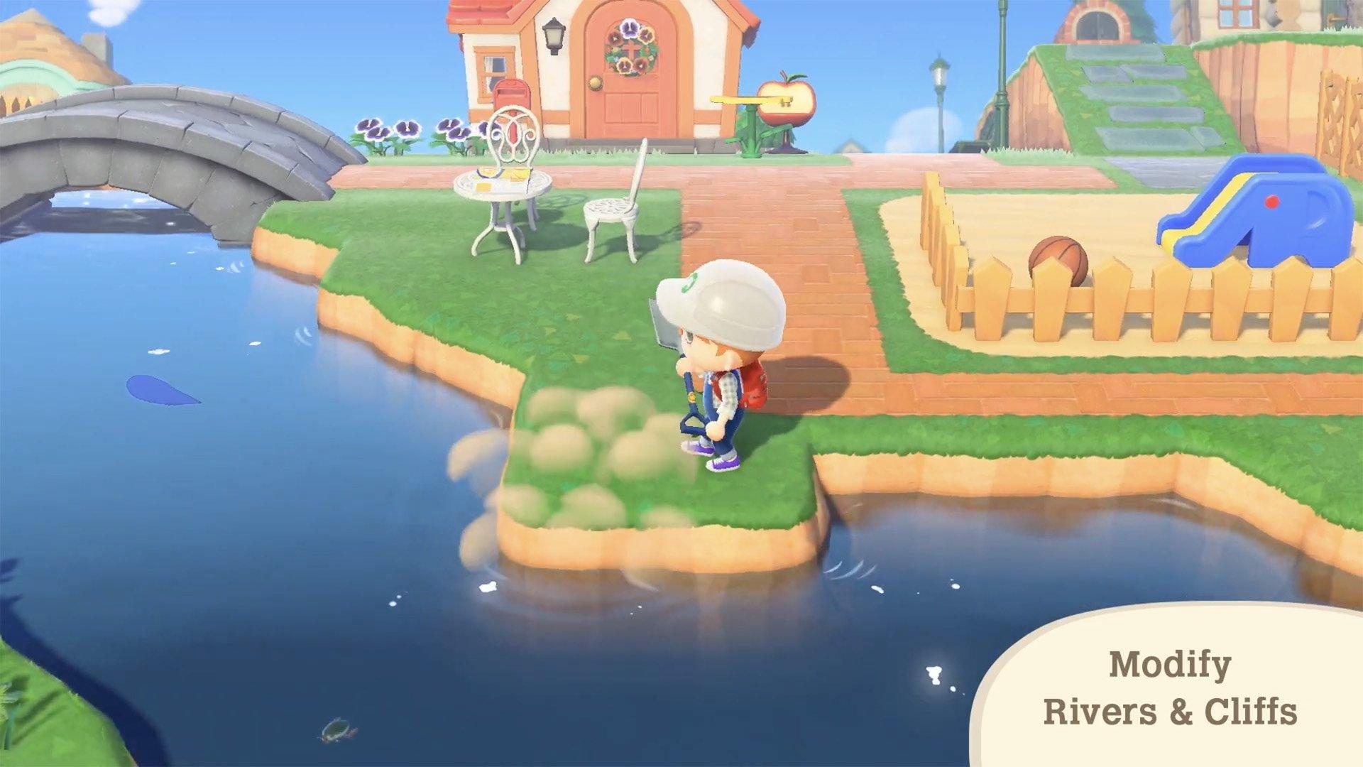 Animal Crossing: New Horizons level designer