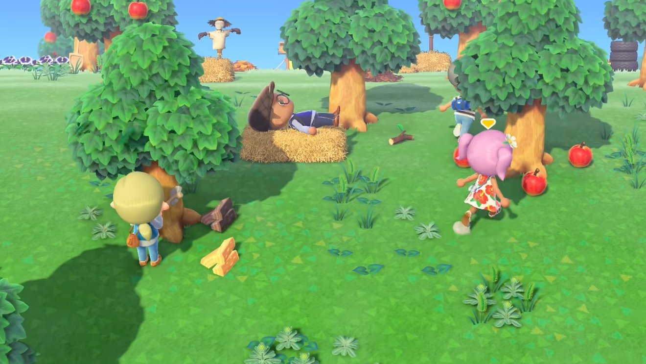 animal crossing new horizons party play