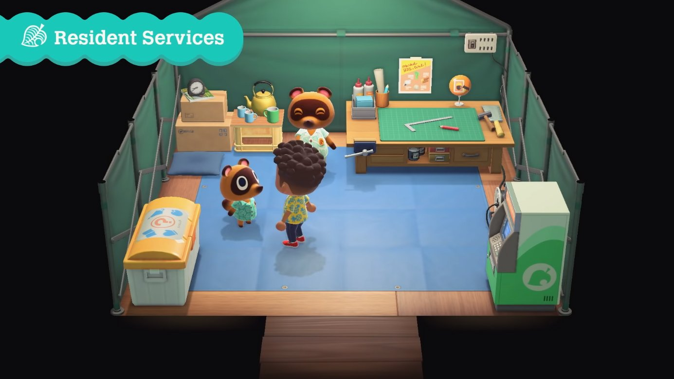 animal crossing new horizons resident services
