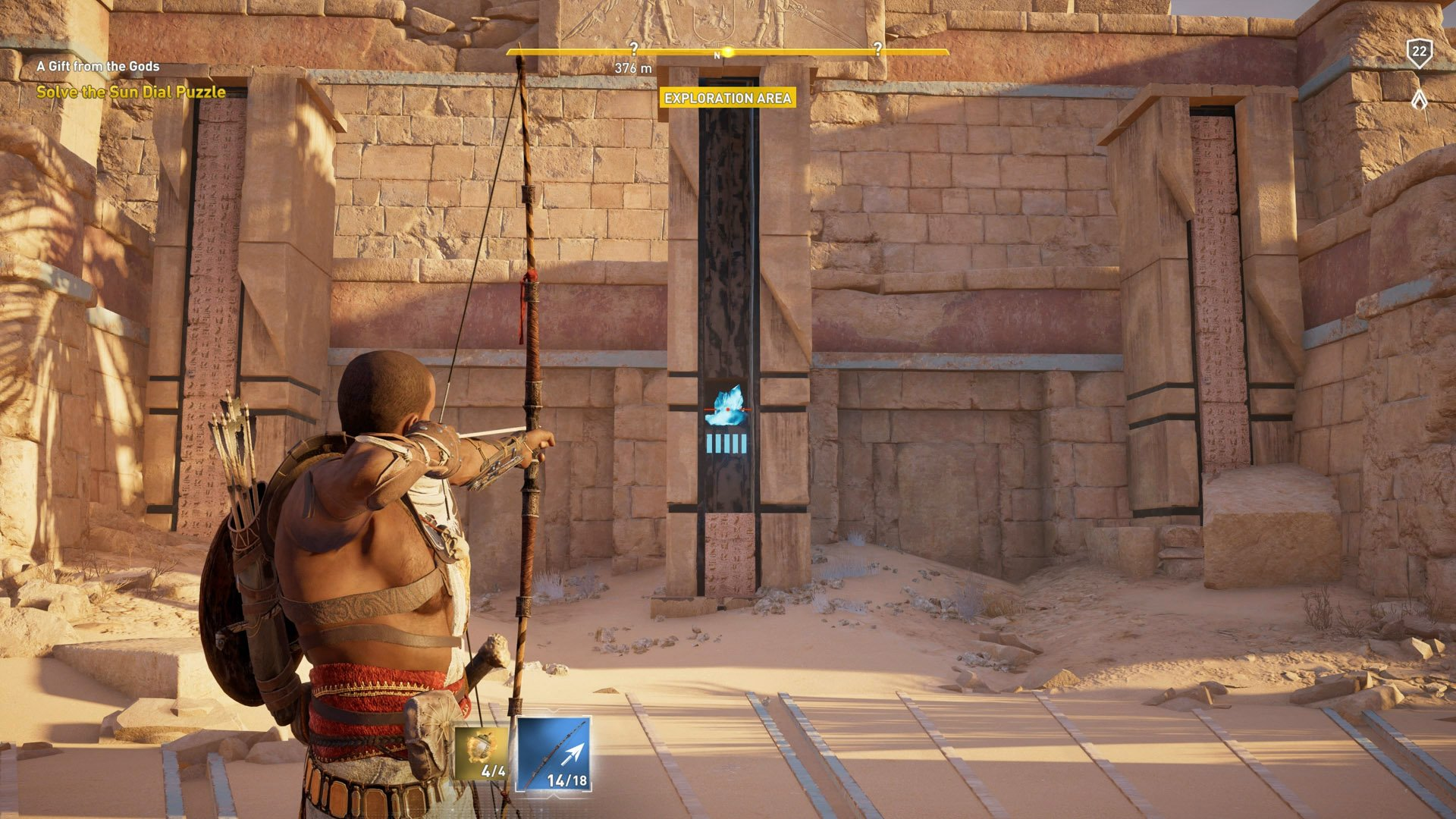 Assassin's Creed Origins - Sundial Puzzle