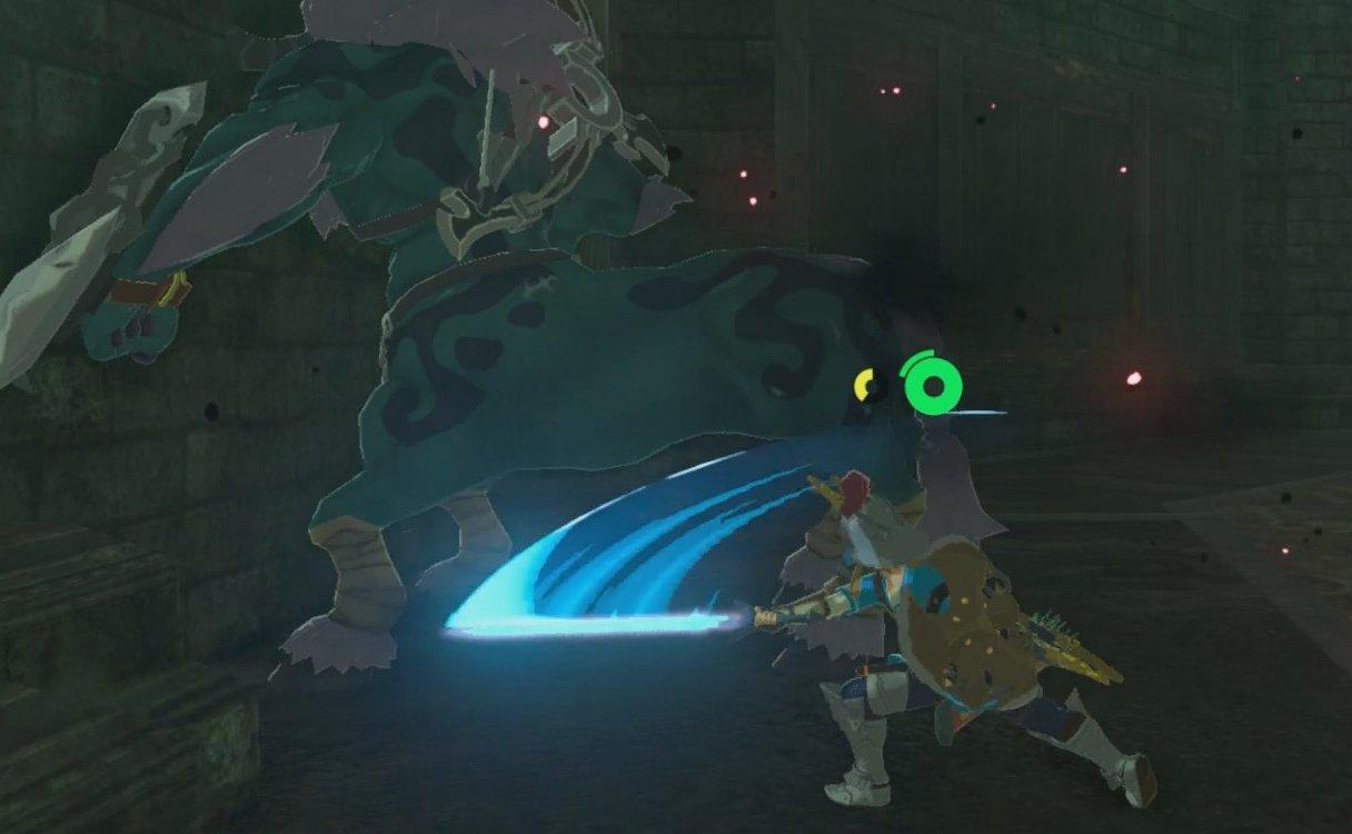 BoTW - Master Sword attack