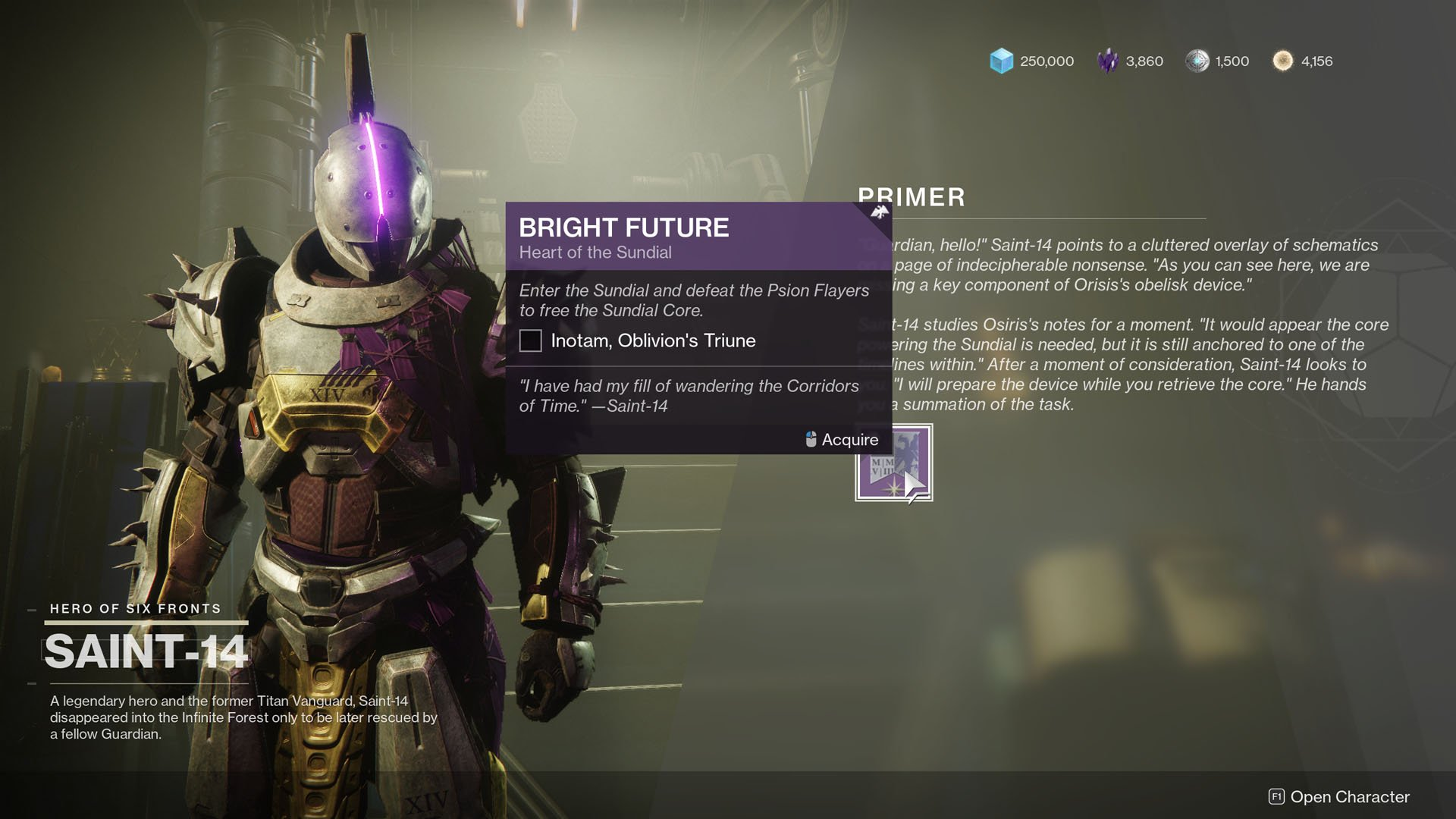 Destiny 2 Empyrean Foundation guide - Bright Future quest