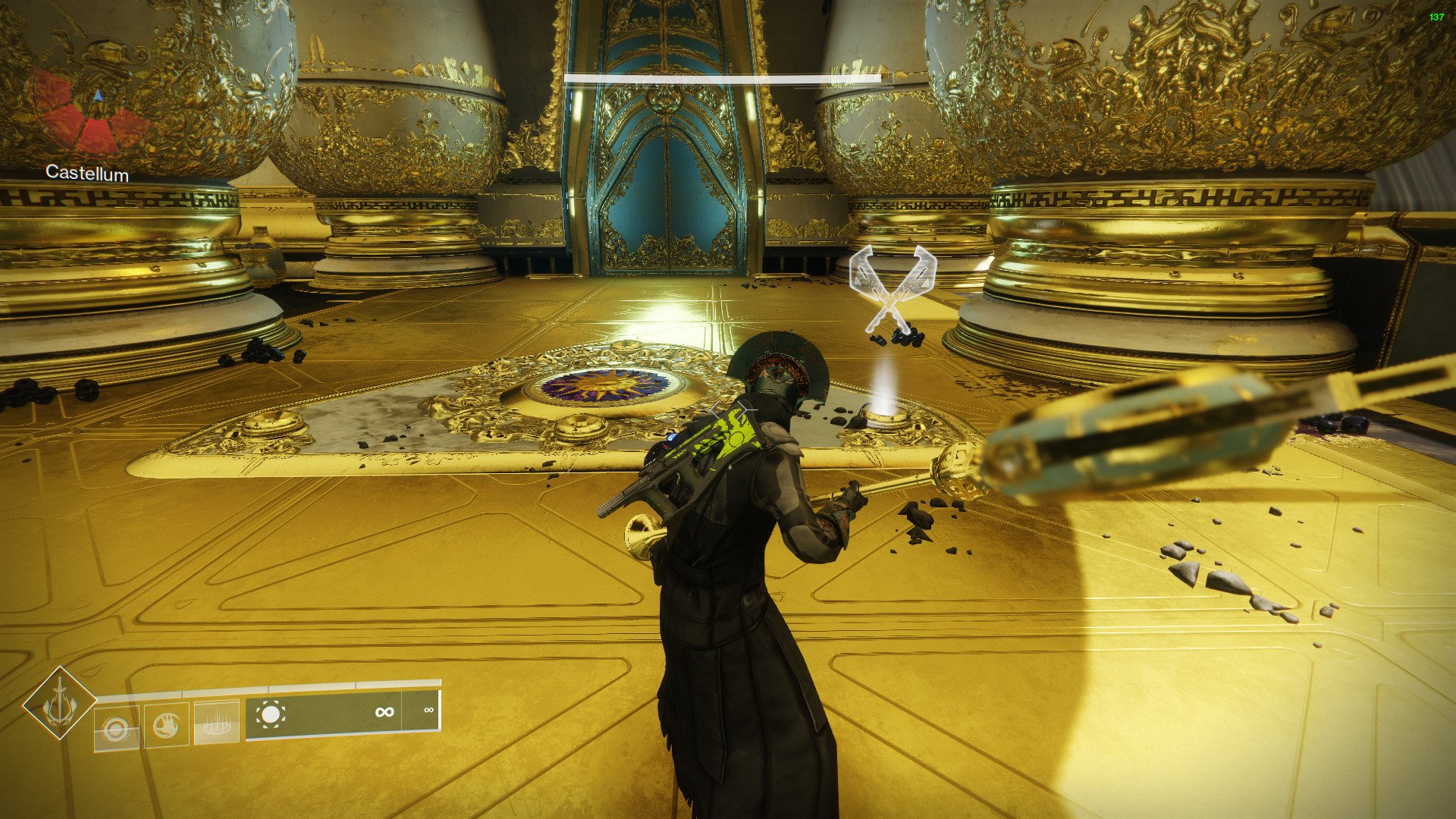 destiny 2 what to do with the castellum relic
