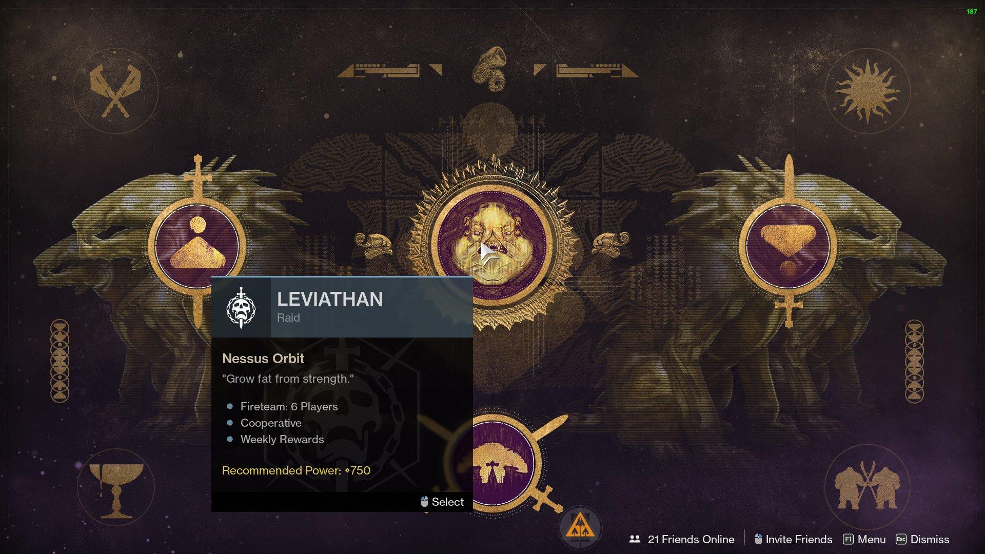 leviathan raid destiny 2