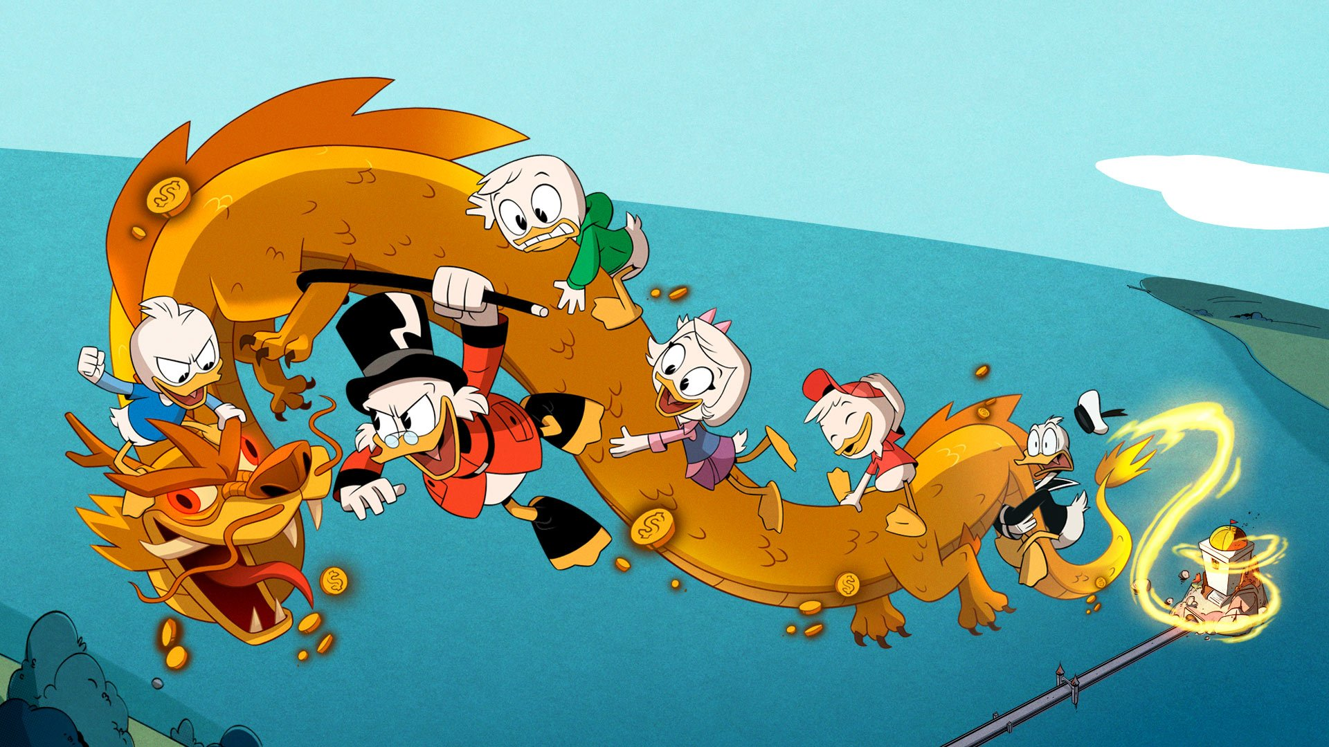 Disney game ideas - DuckTales