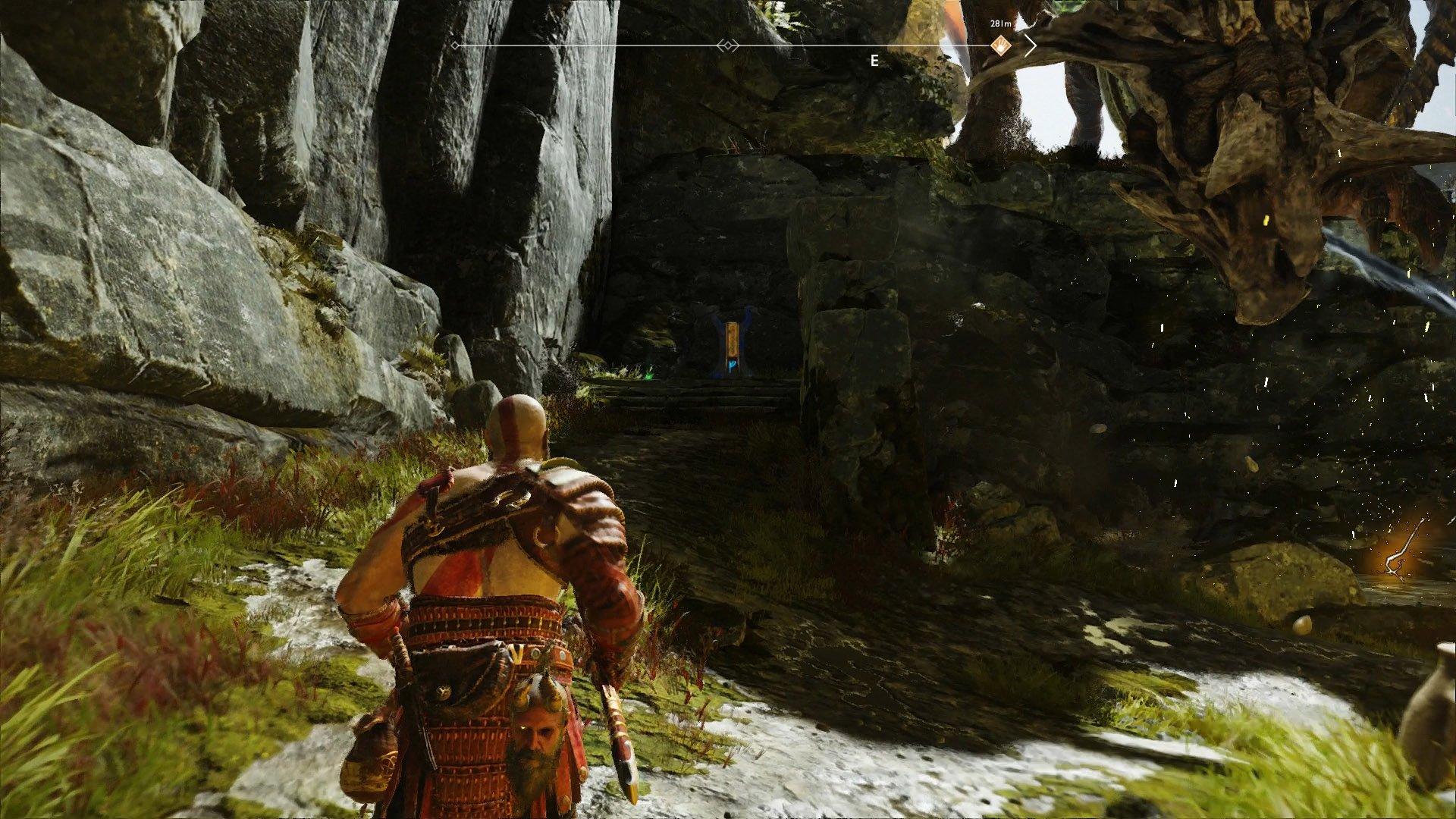god of war hidden chamber fafnir runes
