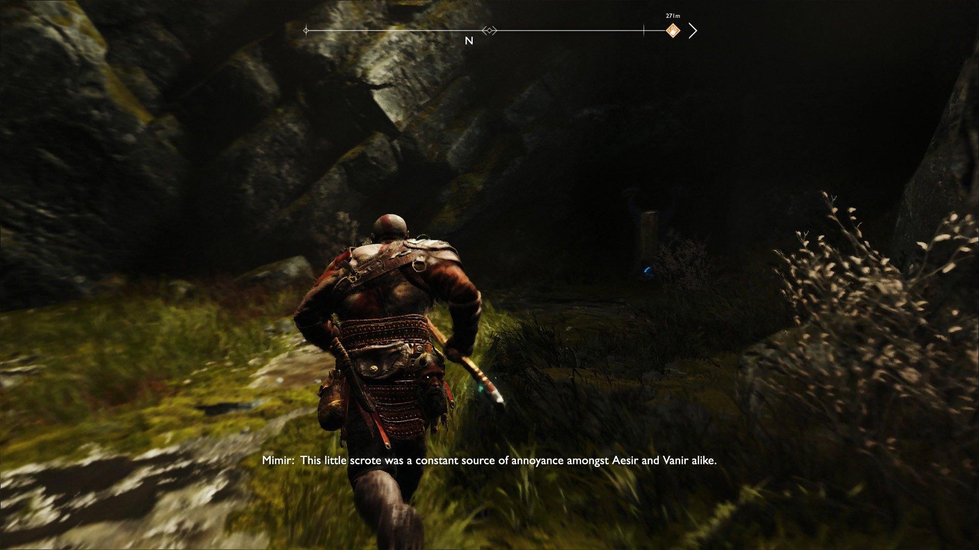 god of war hidden chamber fafnir rune 2