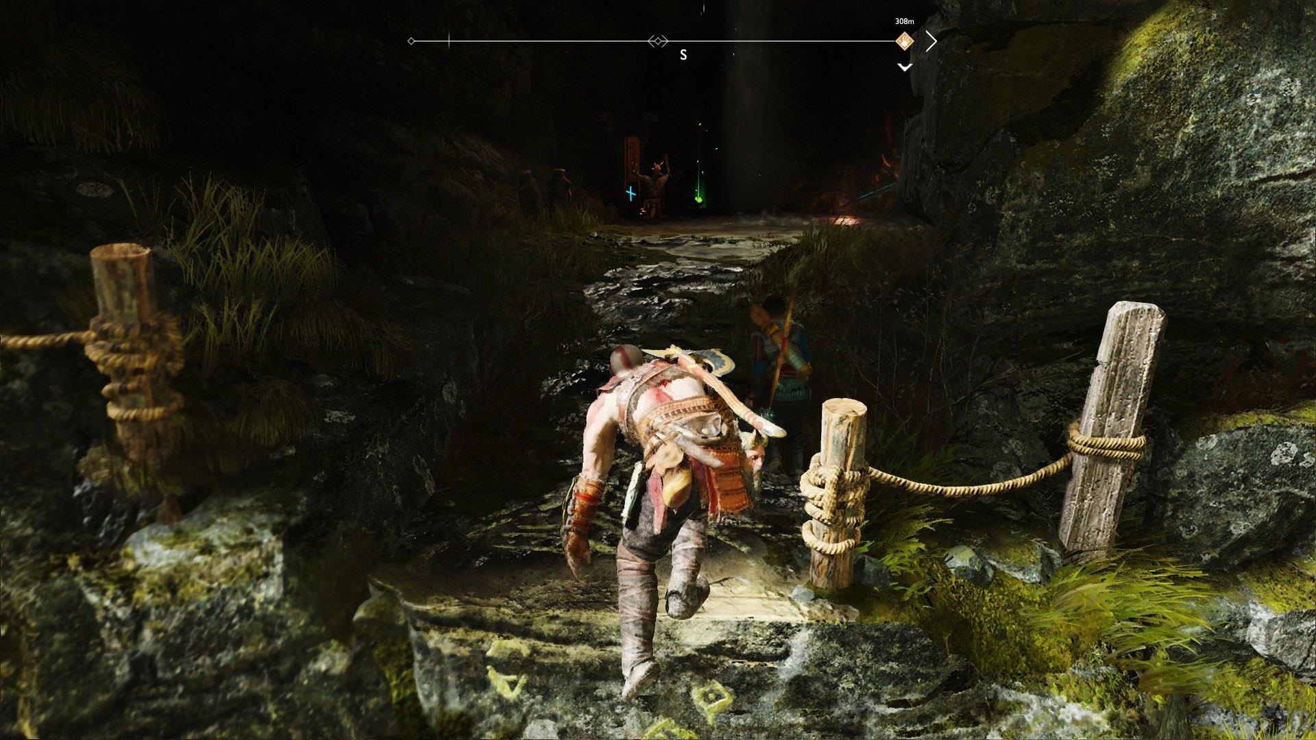 god of war hidden chamber fafnir rune 3