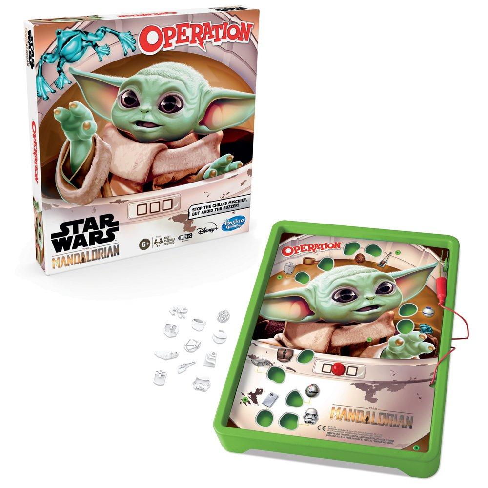 Hasbro The Mandalorian Operation board game