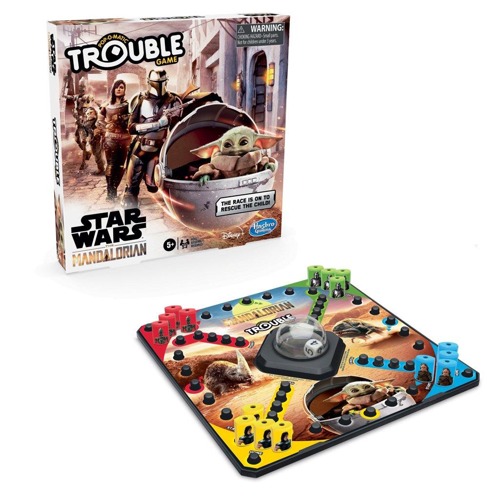 Hasbro Star Wars The Mandalorian Trouble board game