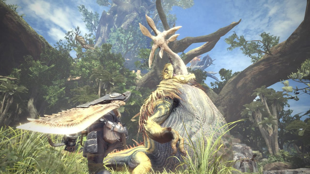 how to mount monsters in Monster Hunter: World