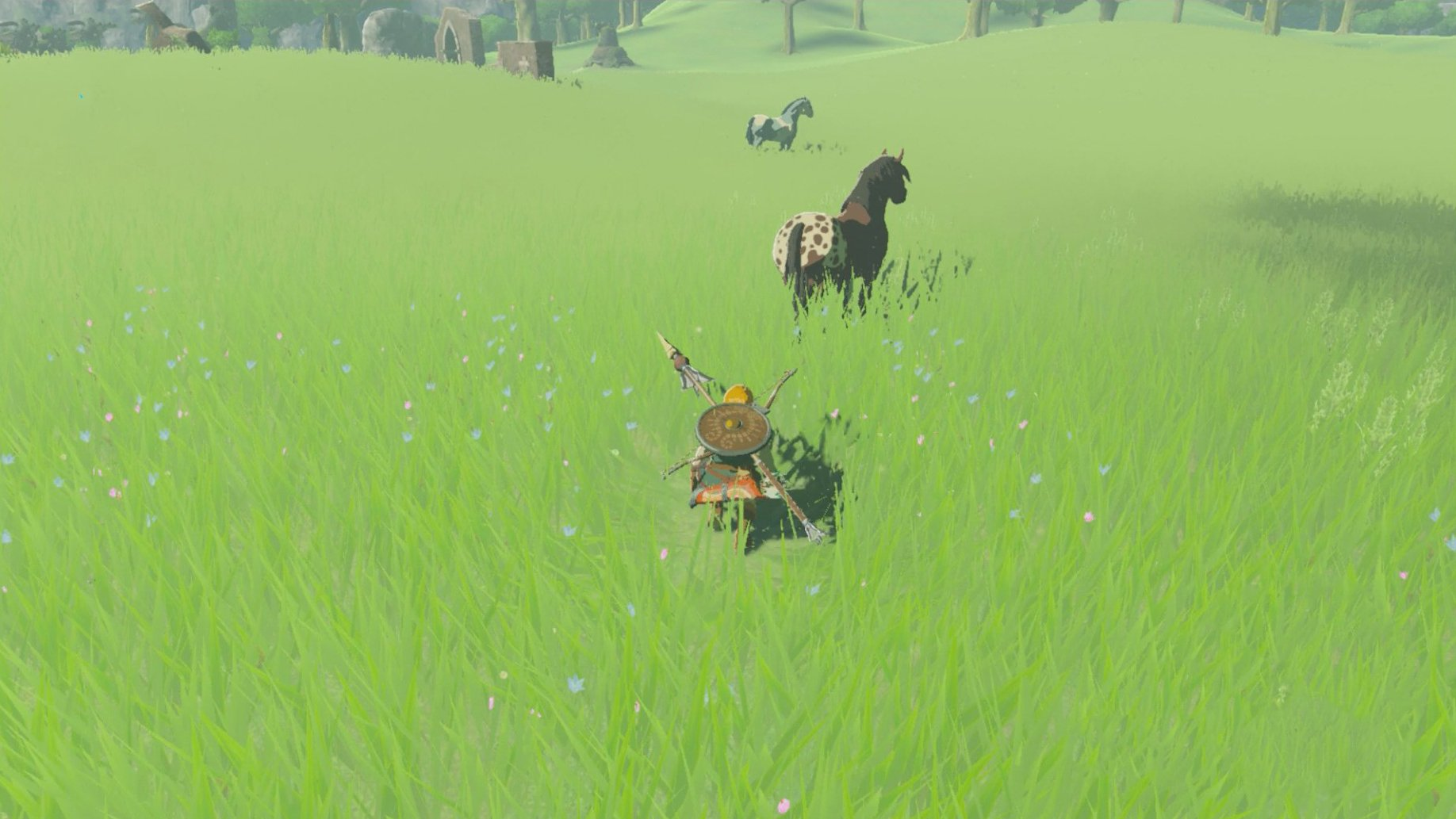 How to tame horses in BoTW