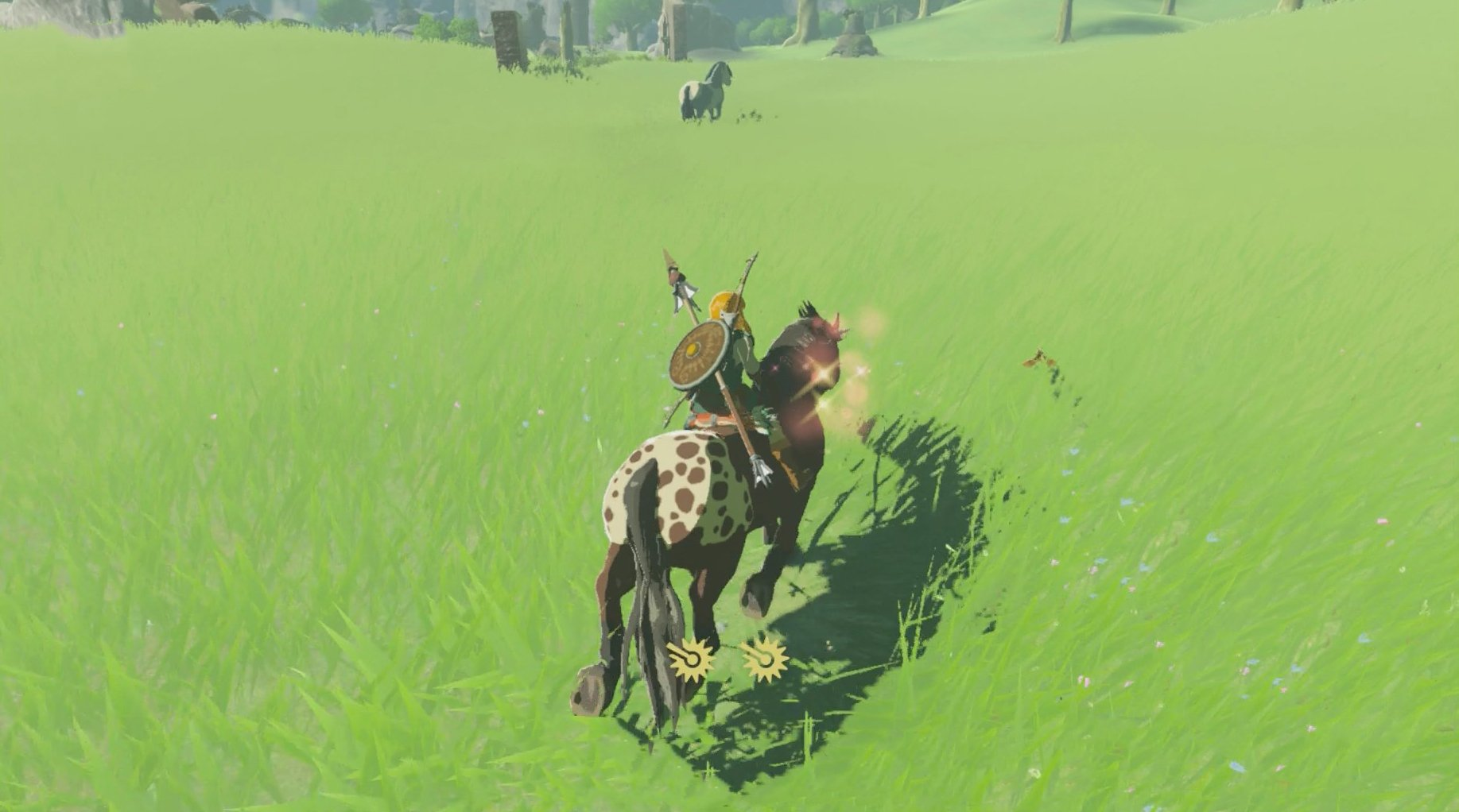 How to tame a horse in Breath of the Wild