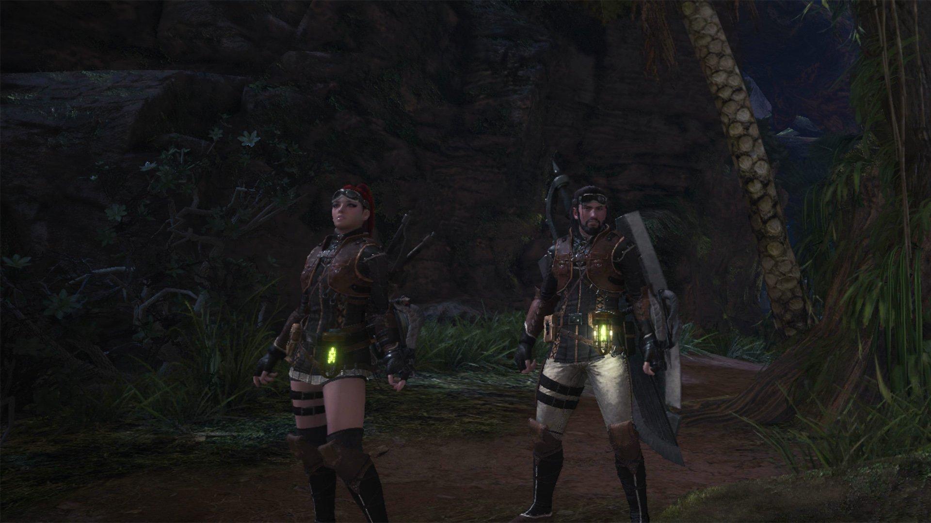 monster hunter world split screen