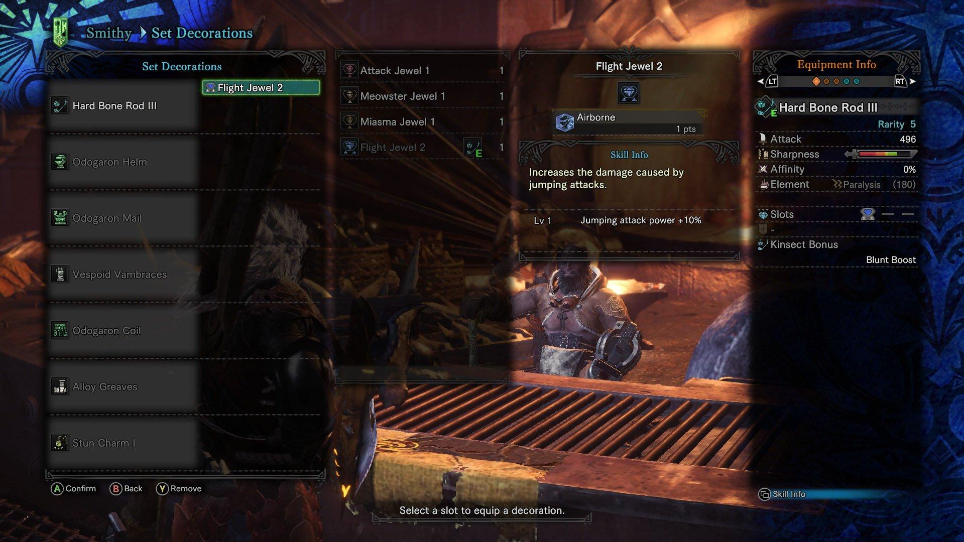 monster hunter world high rank weapons