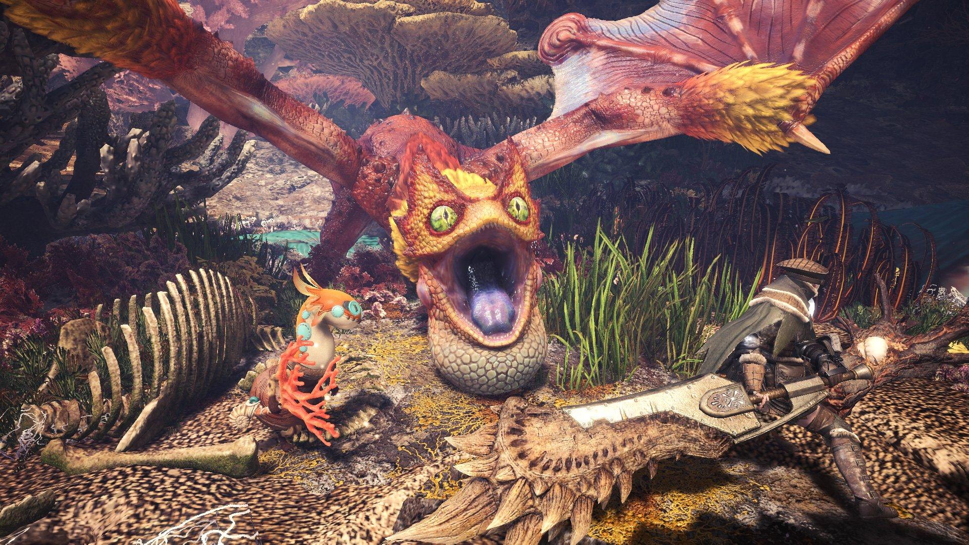 Guiding Lands Regional Monster List Monster Hunter World