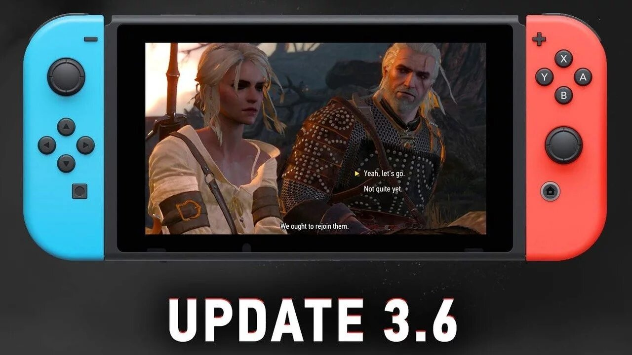 The Witcher 3 update with Cross-save feature